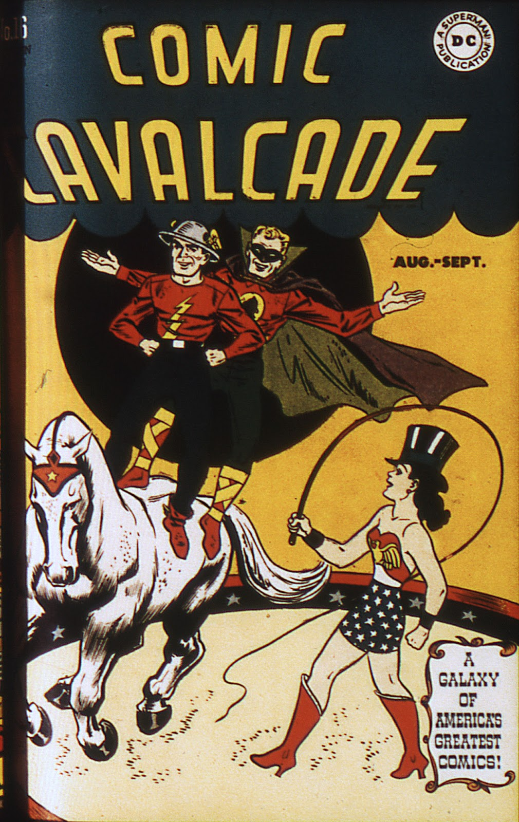 Comic Cavalcade issue 16 - Page 1