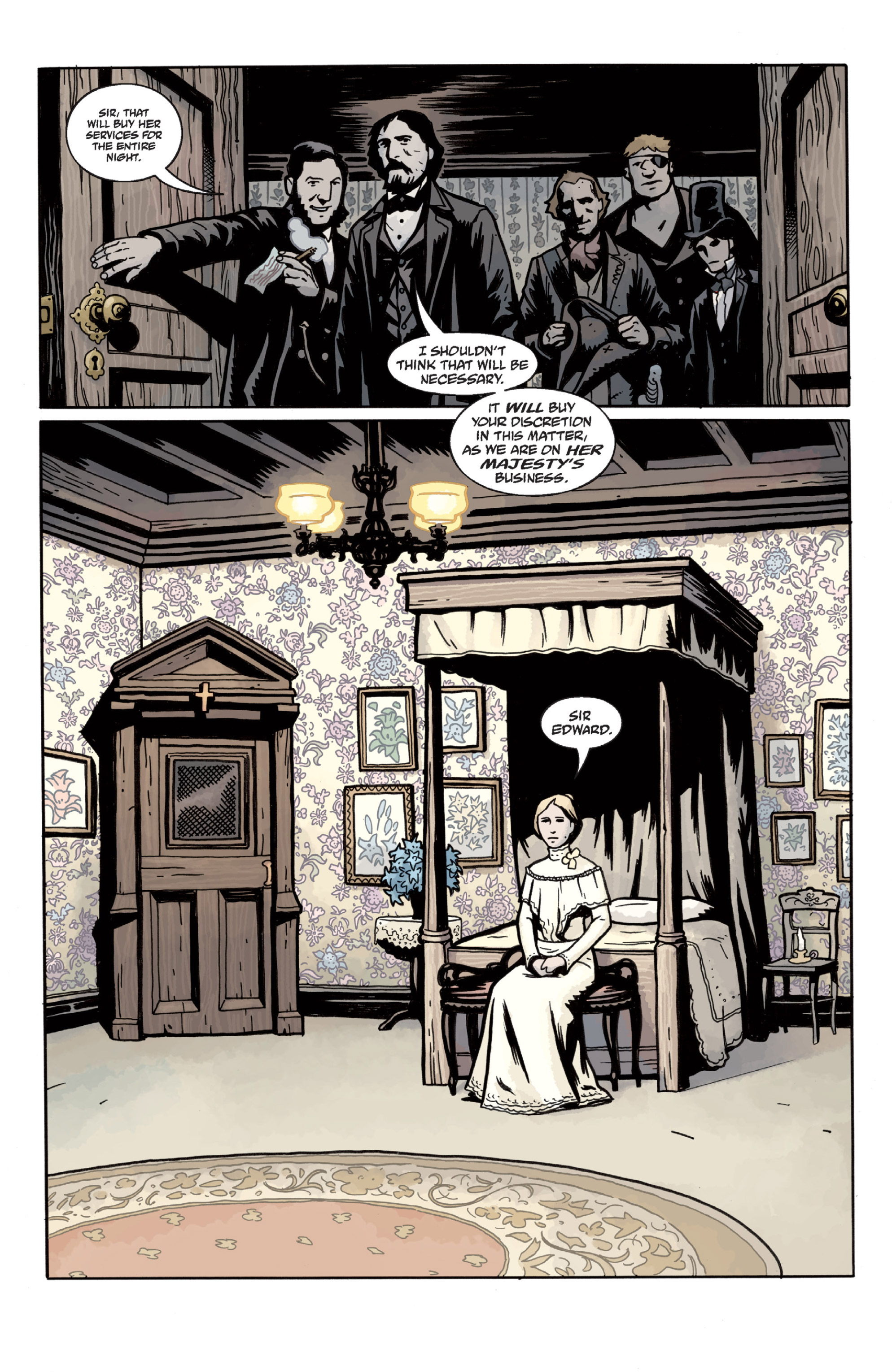 Read online Sir Edward Grey, Witchfinder: In the Service of Angels comic -  Issue # TPB - 41