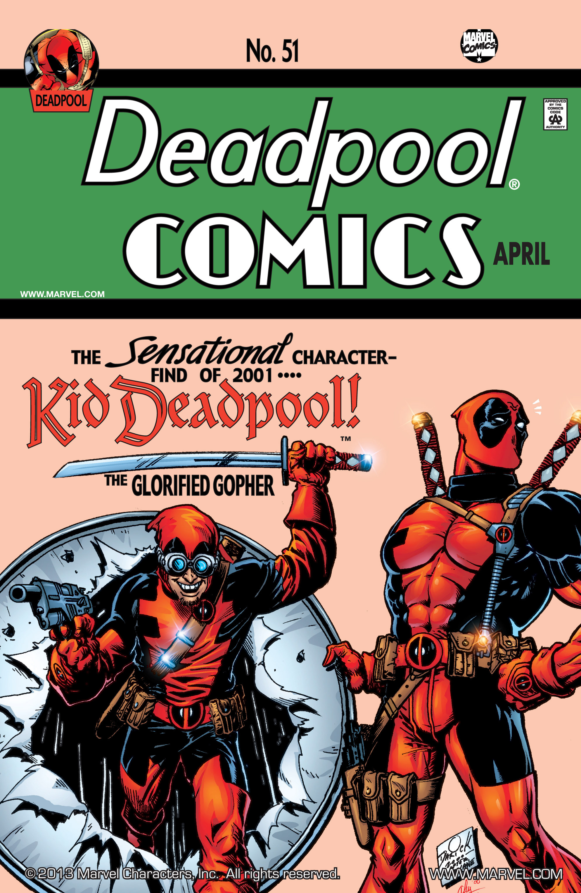 Deadpool (1997) 51 Page 1