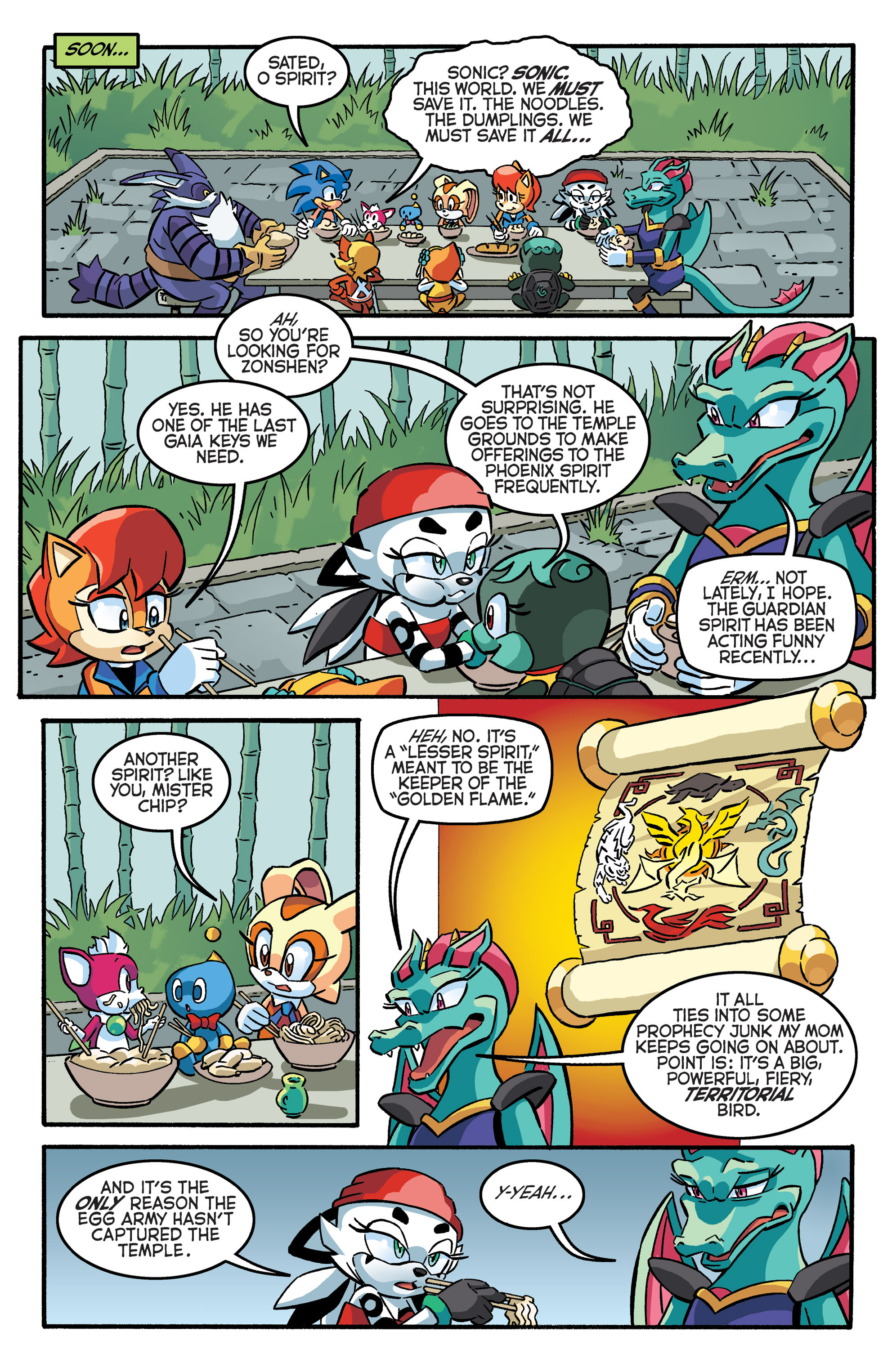 Read online Sonic The Hedgehog comic -  Issue #281 - 8