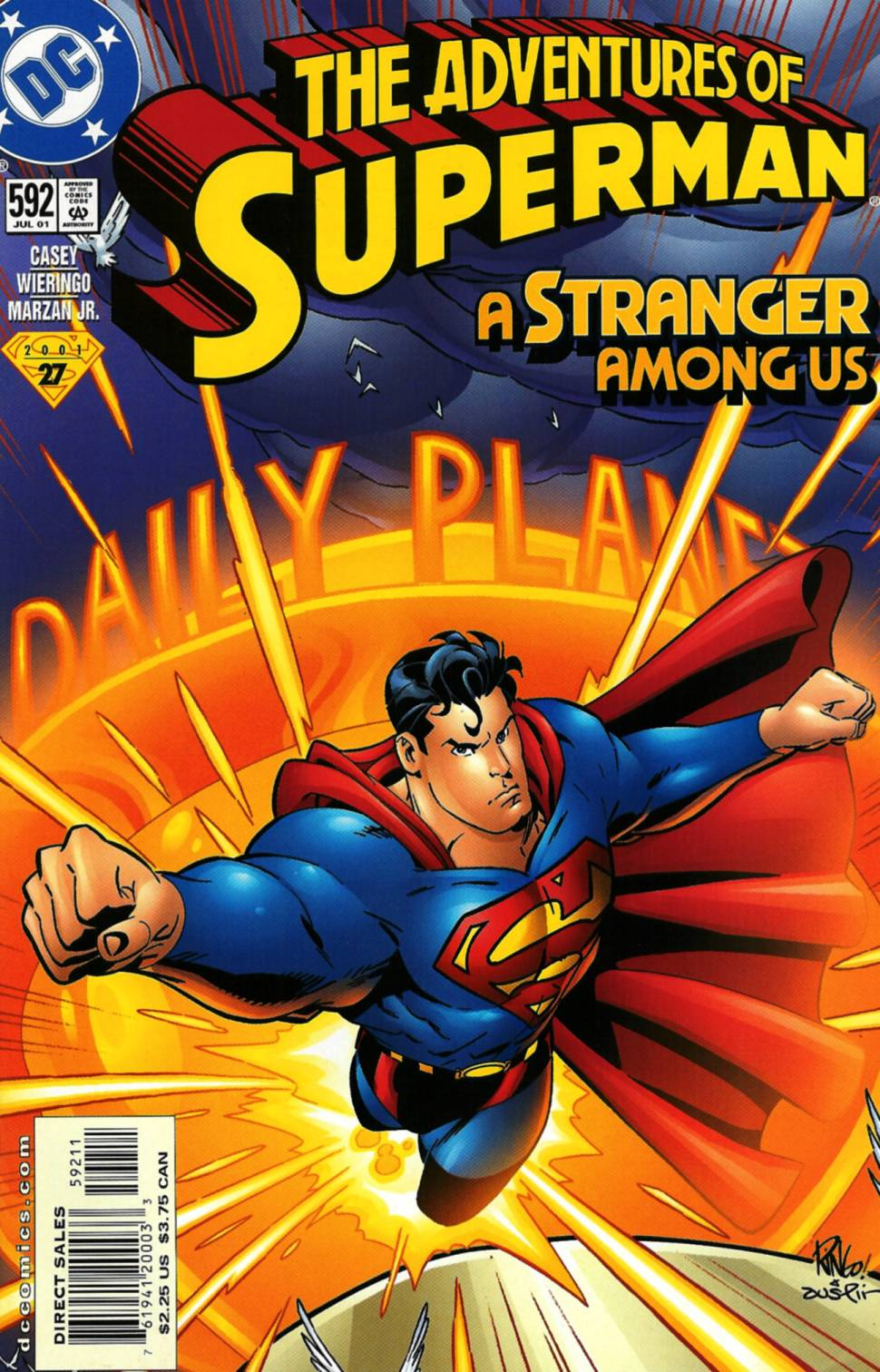 Read online Adventures of Superman (1987) comic -  Issue #592 - 1