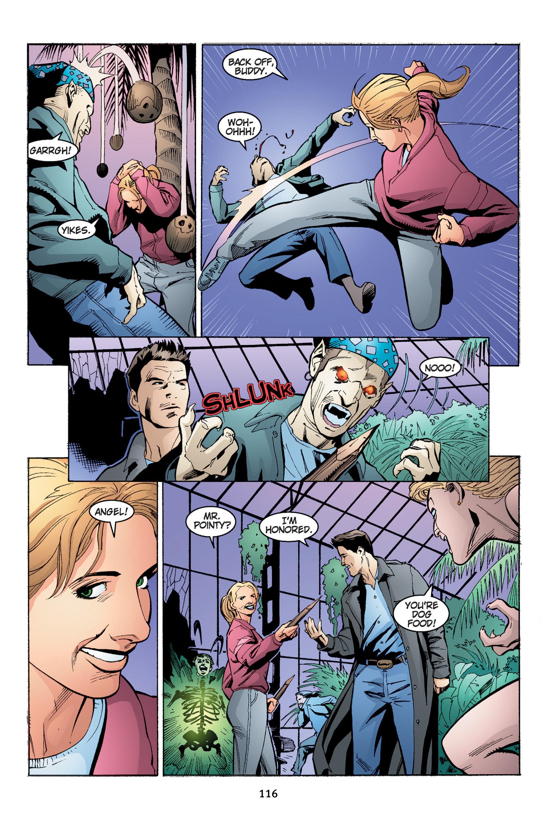 Read online Buffy the Vampire Slayer: Omnibus comic -  Issue # TPB 4 - 117