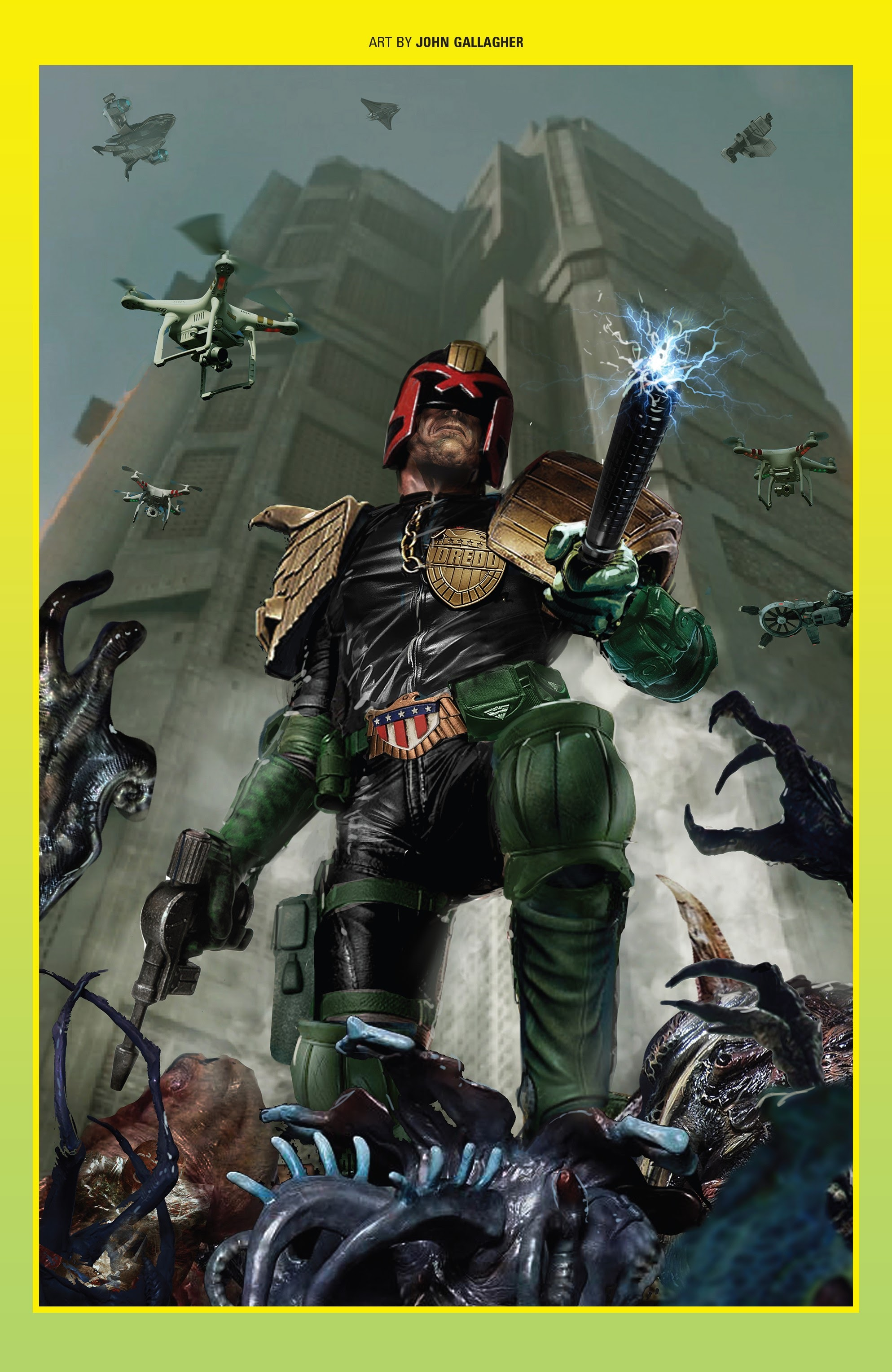 Judge Dredd: Toxic #4 #4 - English 25