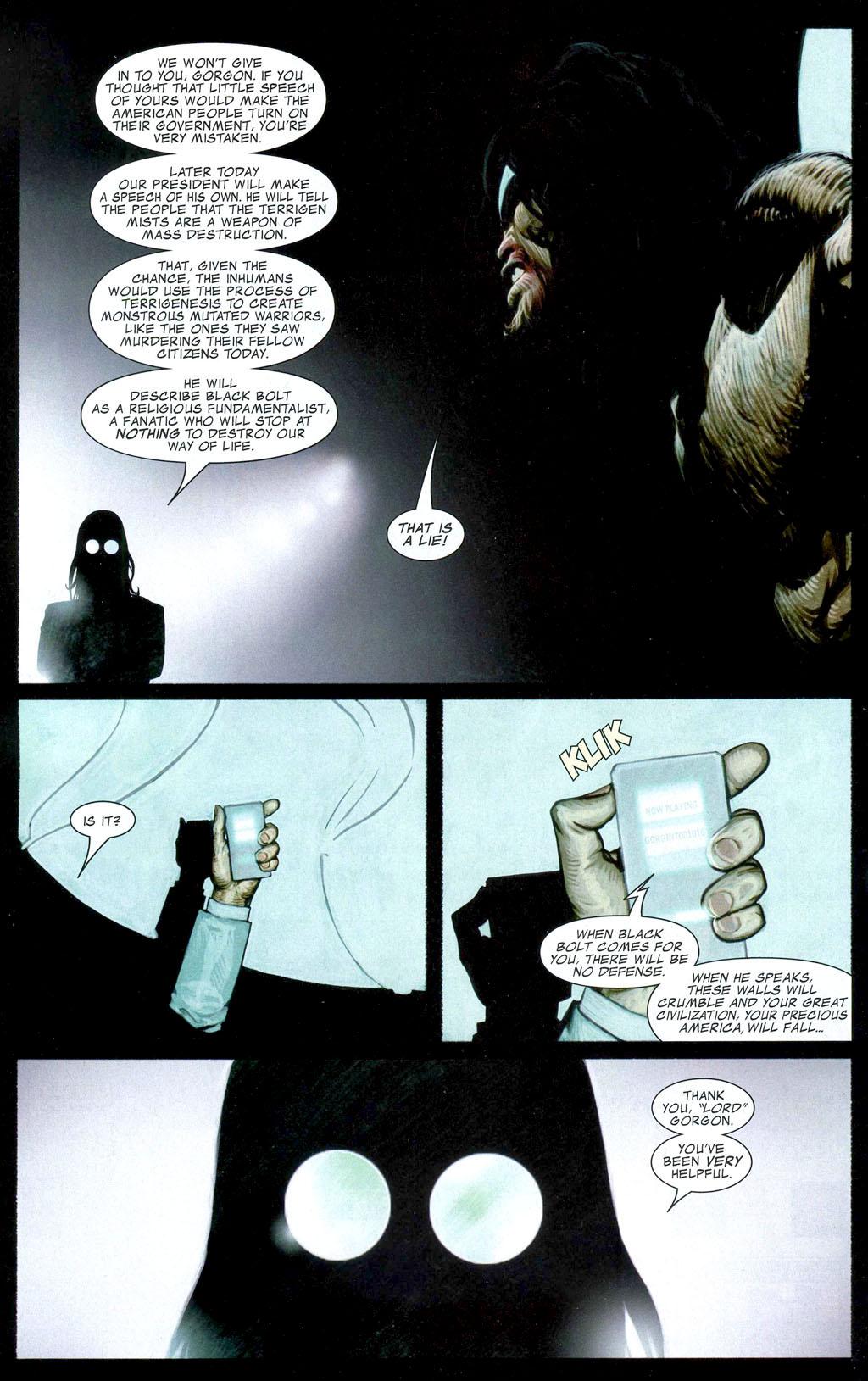 Read online Silent War comic -  Issue #1 - 17