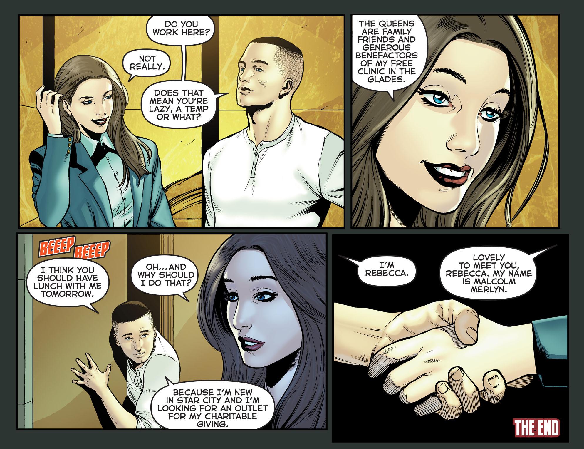 Read online Arrow: The Dark Archer comic -  Issue #12 - 22