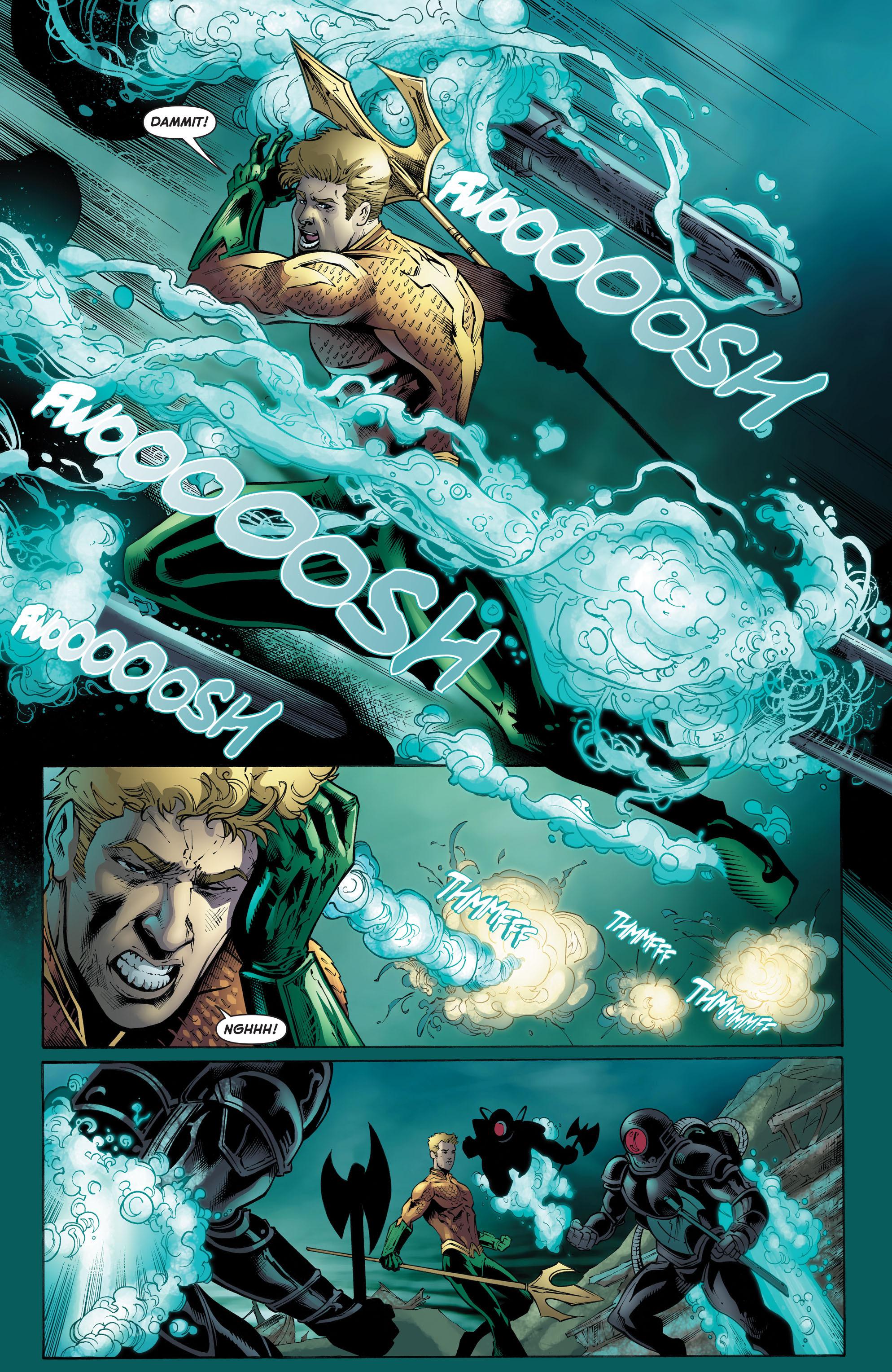 Read online Aquaman (2011) comic -  Issue #51 - 17