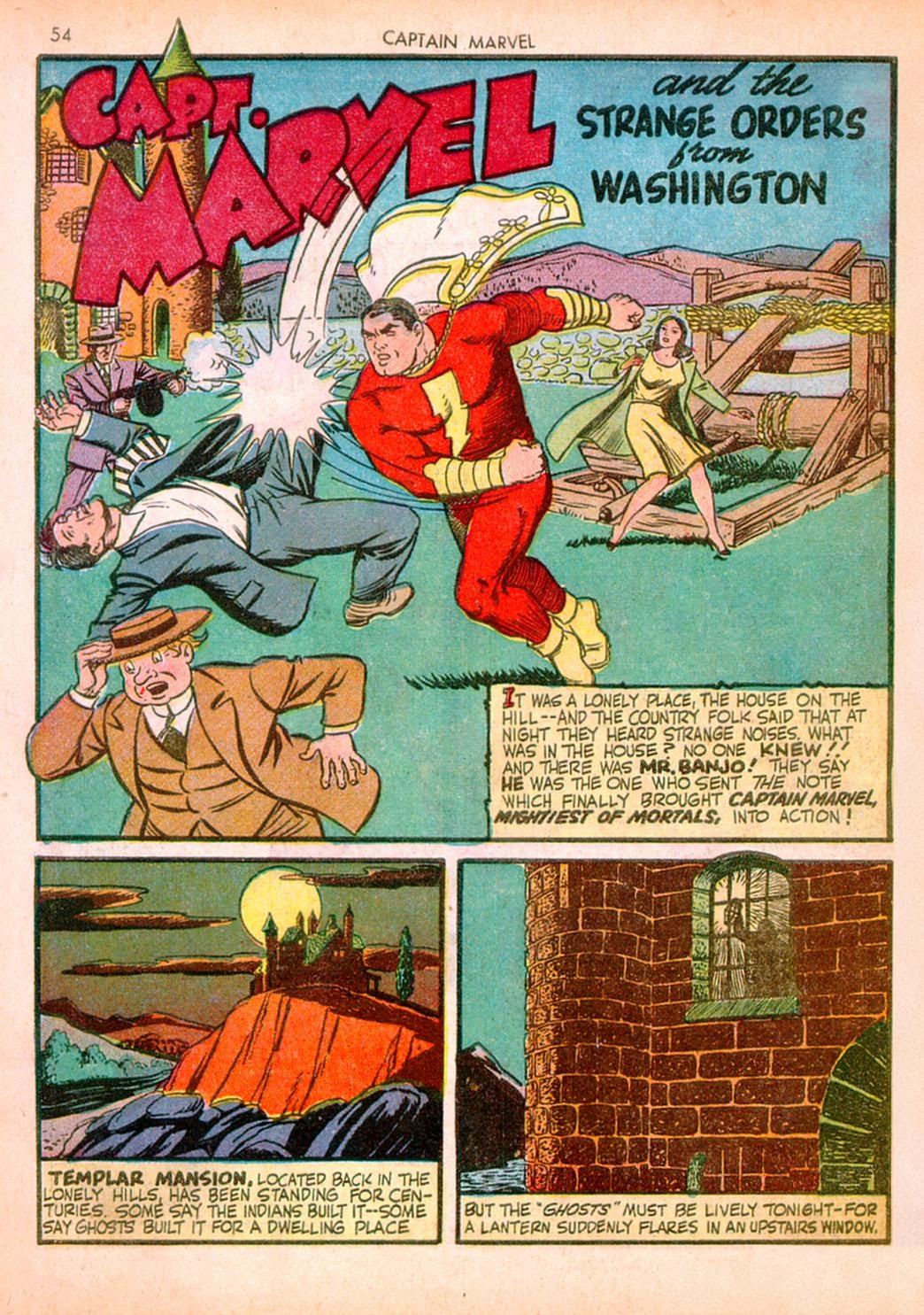 Captain Marvel Adventures issue 10 - Page 54