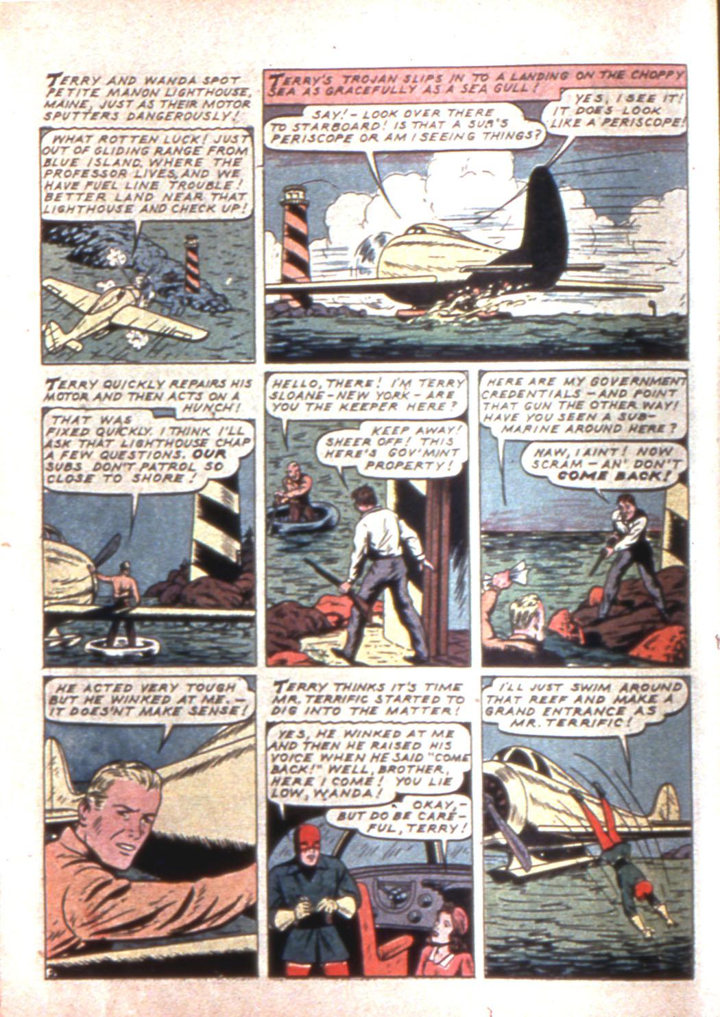Read online Sensation (Mystery) Comics comic -  Issue #11 - 26