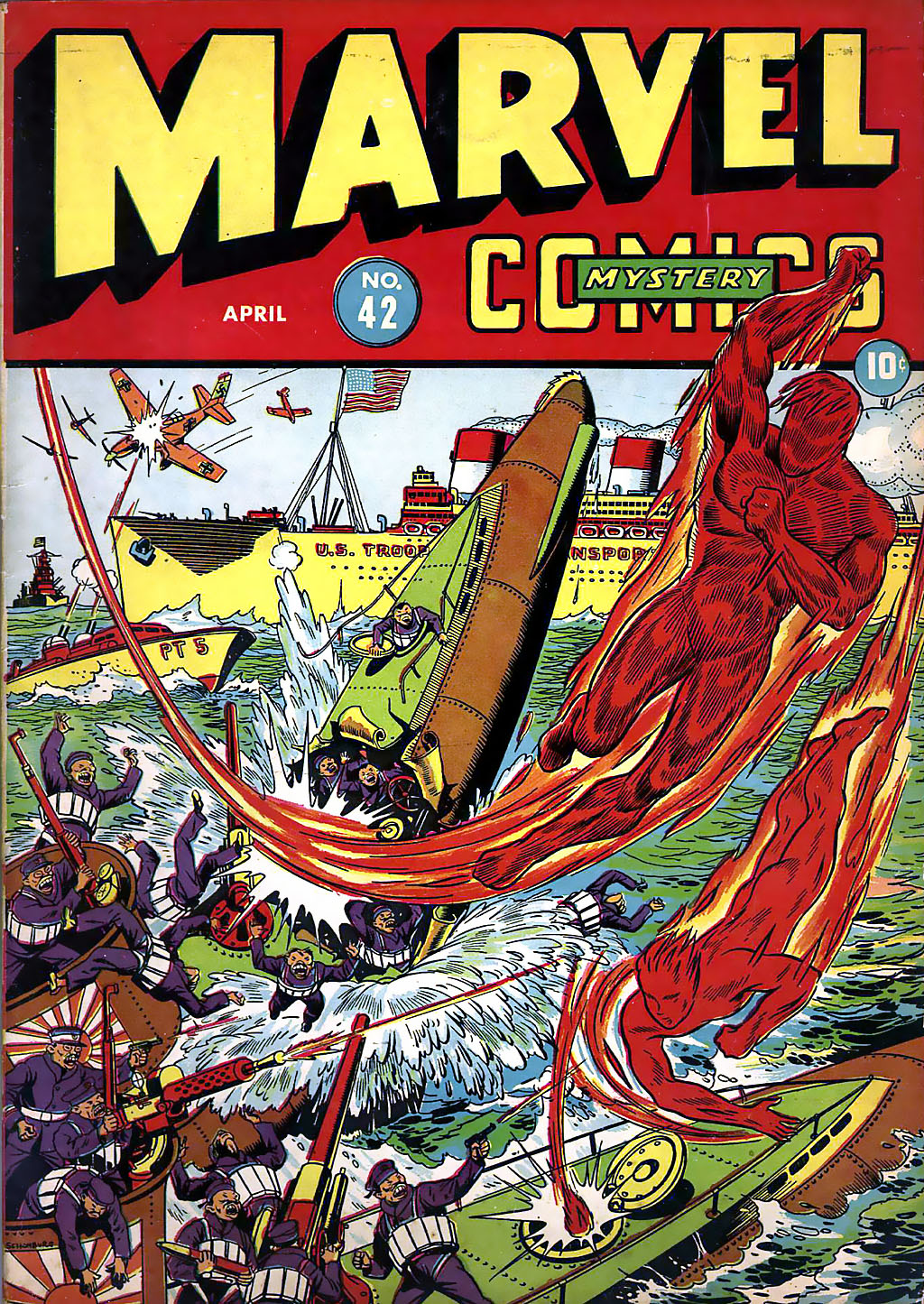 Marvel Mystery Comics 42 Page 1