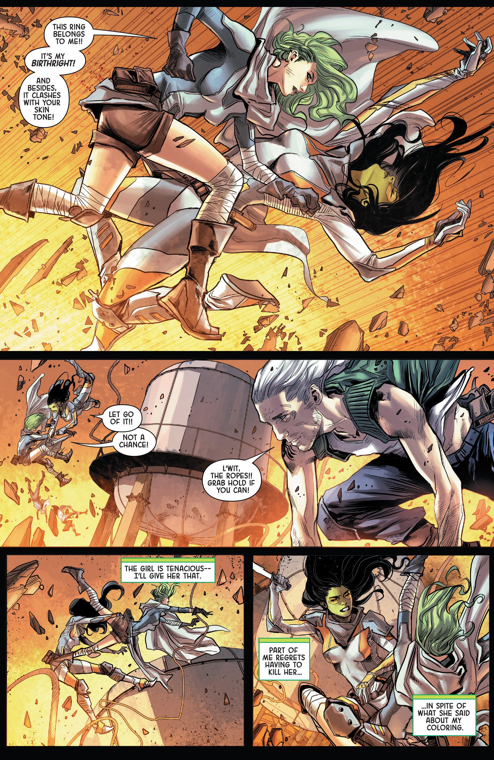 Read online Gamora comic -  Issue #5 - 5