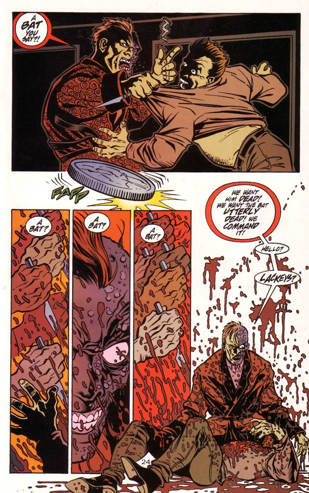 Batman: Two Faces issue Full - Page 25