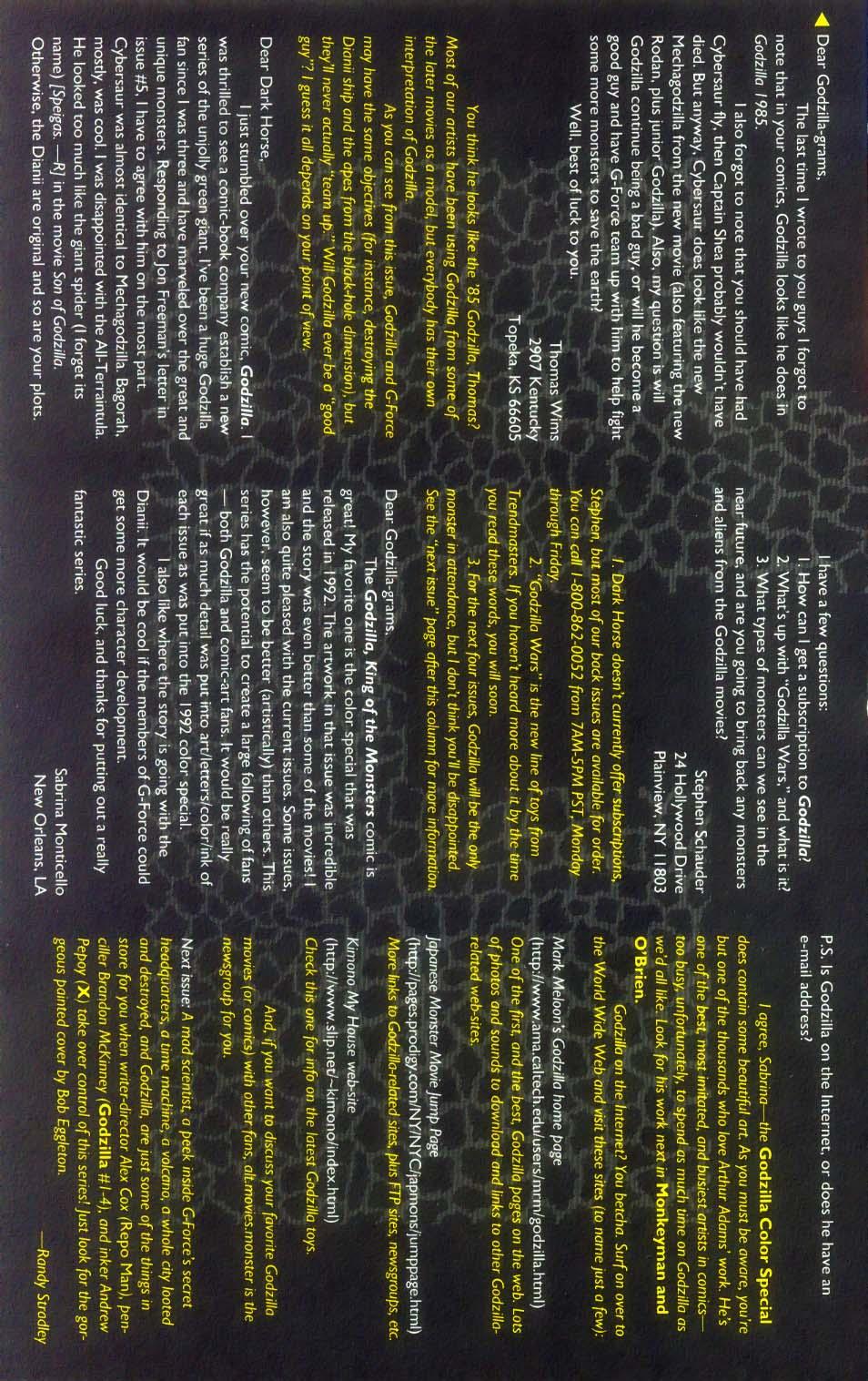 Godzilla (1995) Issue #8 #9 - English 28