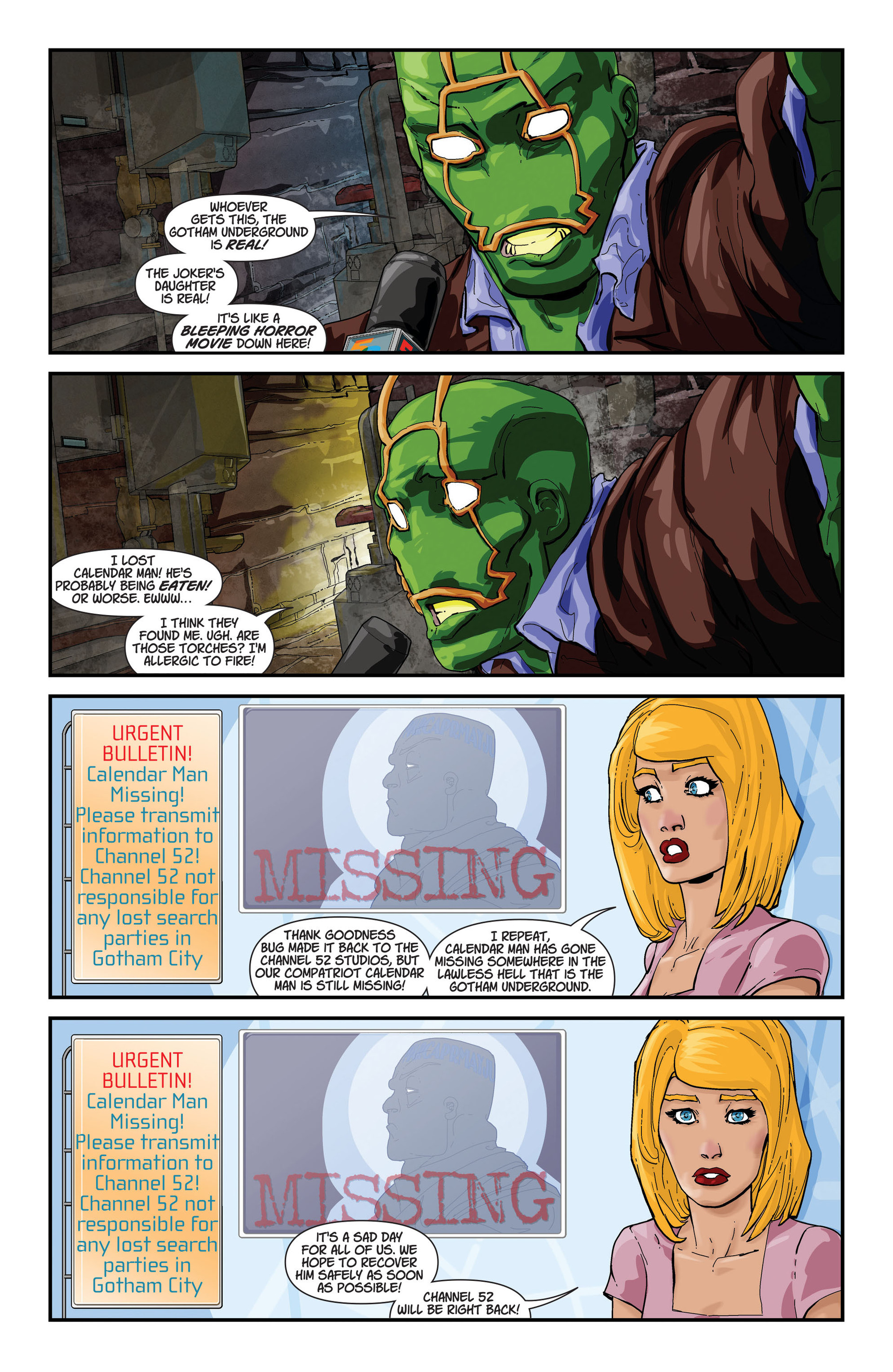 Read online All-Star Western (2011) comic -  Issue #22 - 32