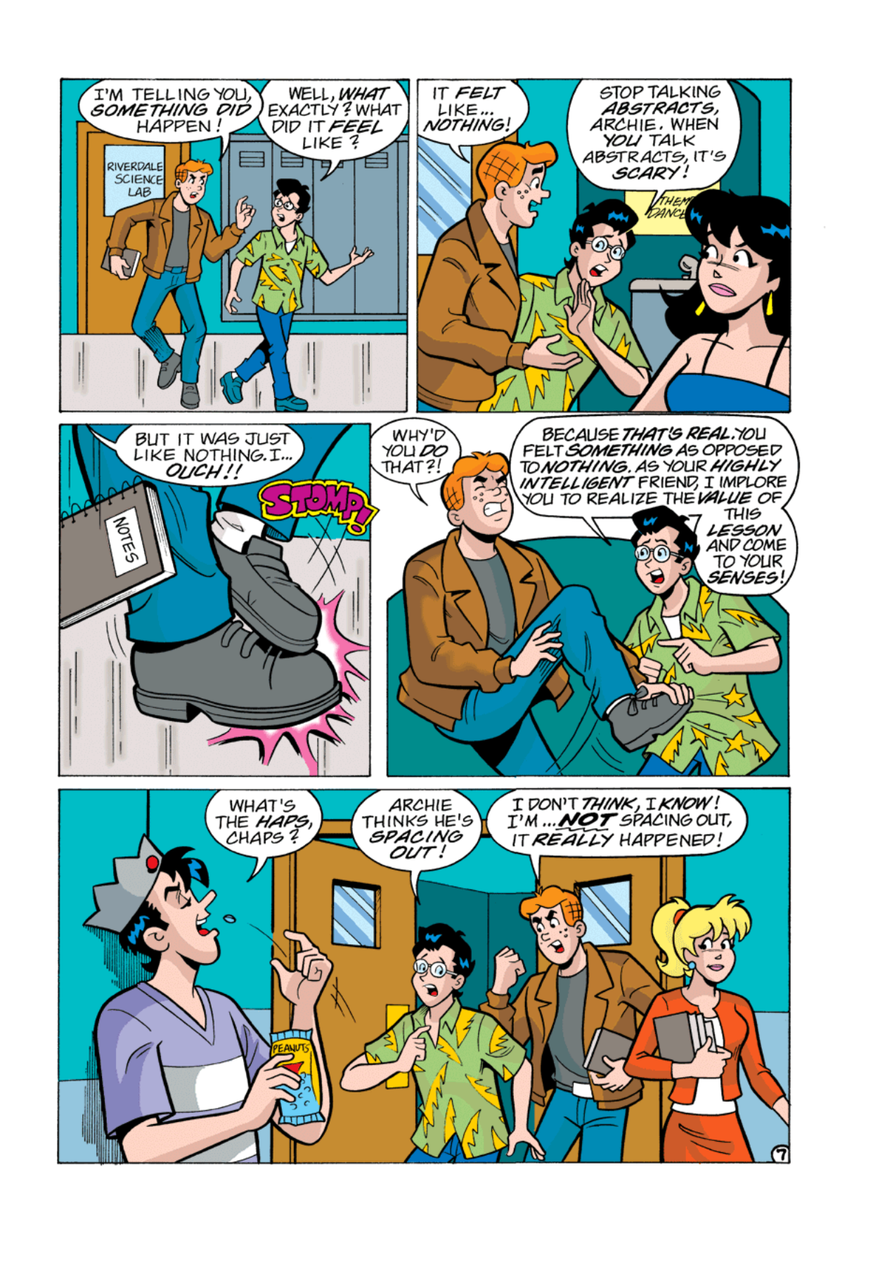 Read online Archie's Weird Mysteries comic -  Issue #1 - 8