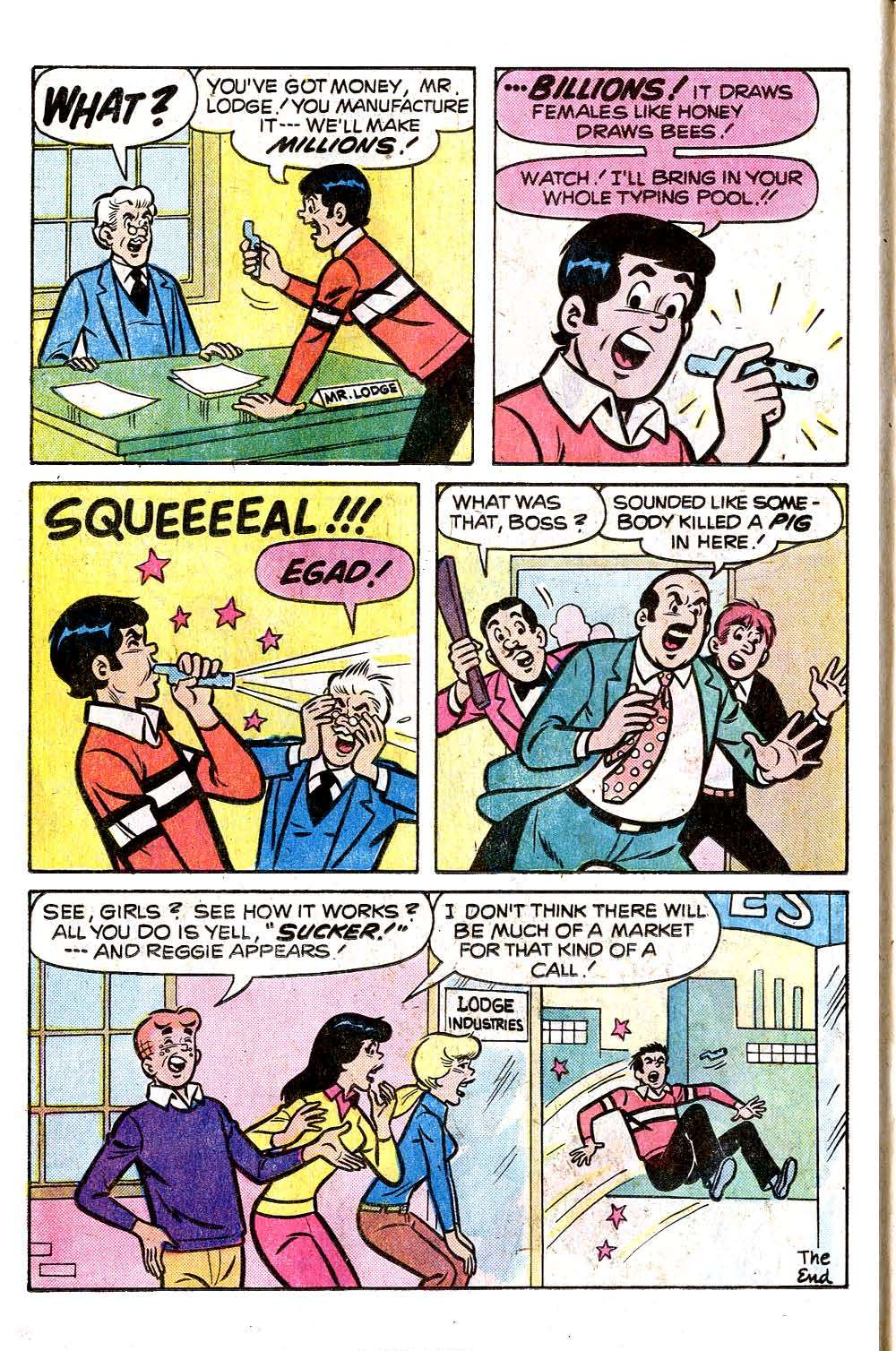 Read online Archie (1960) comic -  Issue #255 - 8