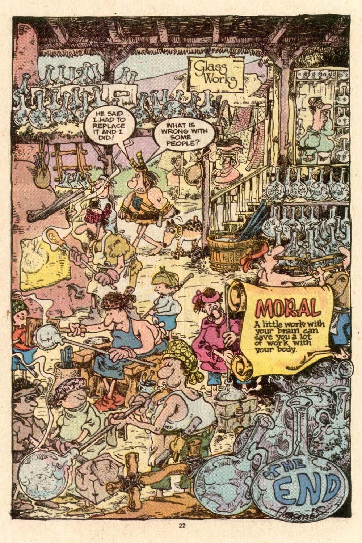Read online Sergio Aragonés Groo the Wanderer comic -  Issue #40 - 25