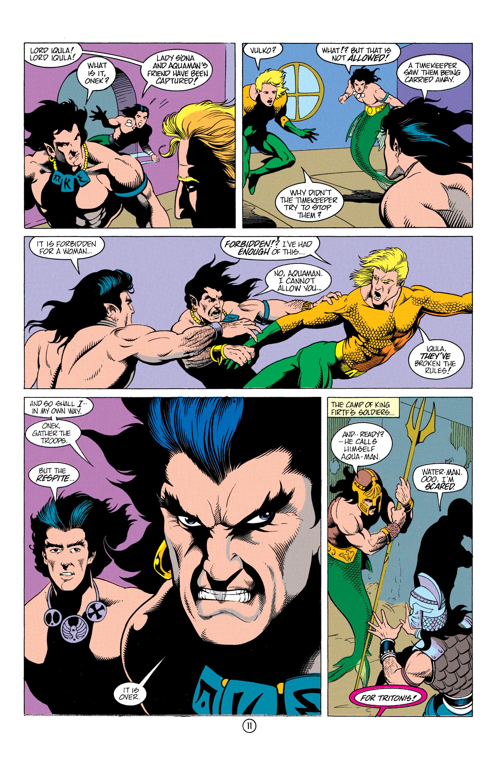 Read online Aquaman (1991) comic -  Issue #12 - 12