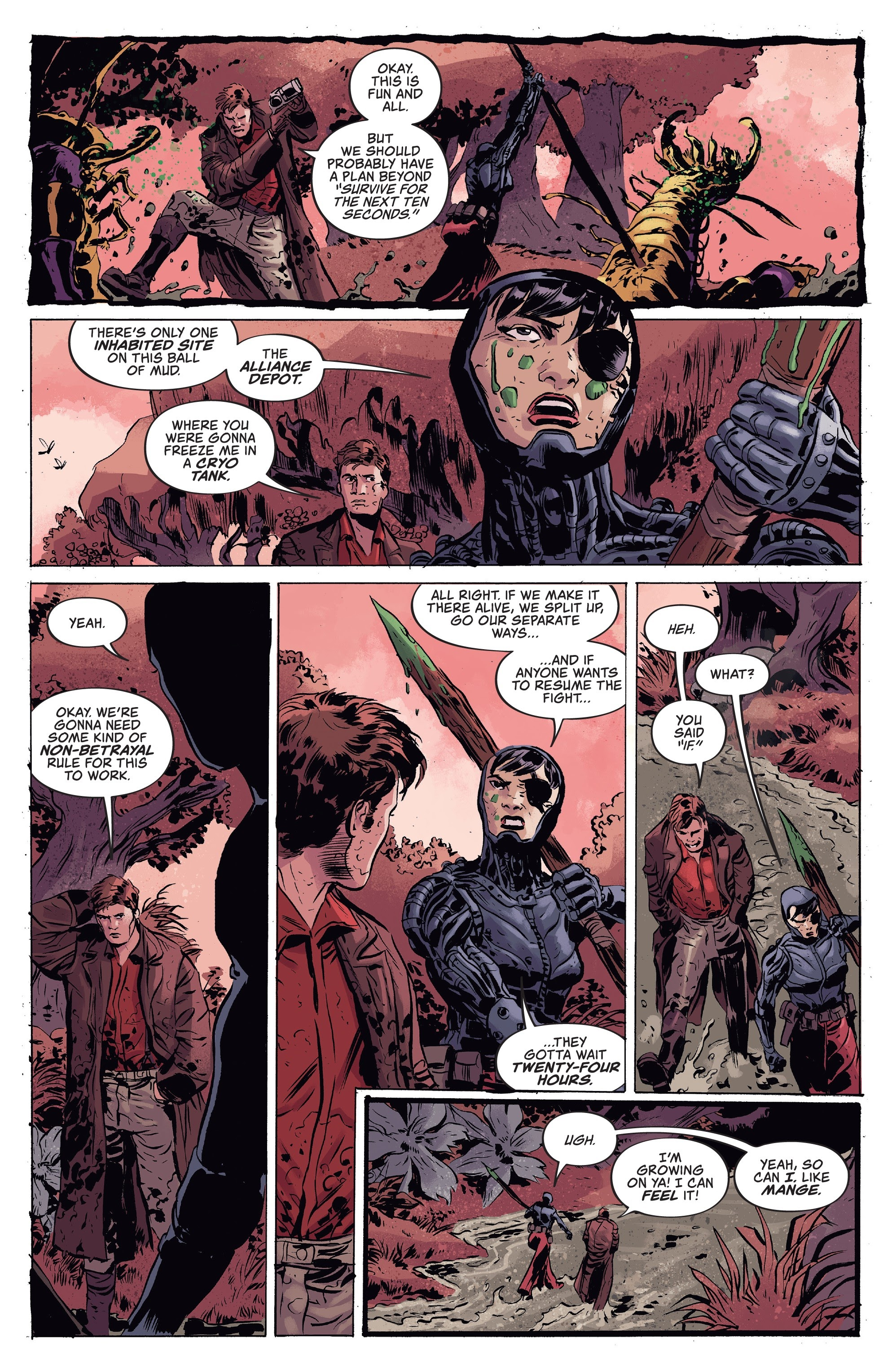 Read online Firefly comic -  Issue #7 - 14