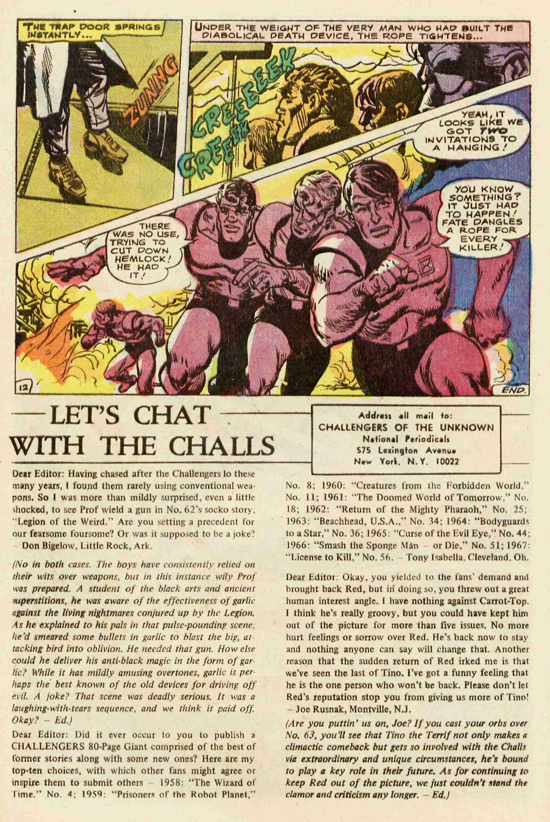 Challengers of the Unknown (1958) issue 64 - Page 13