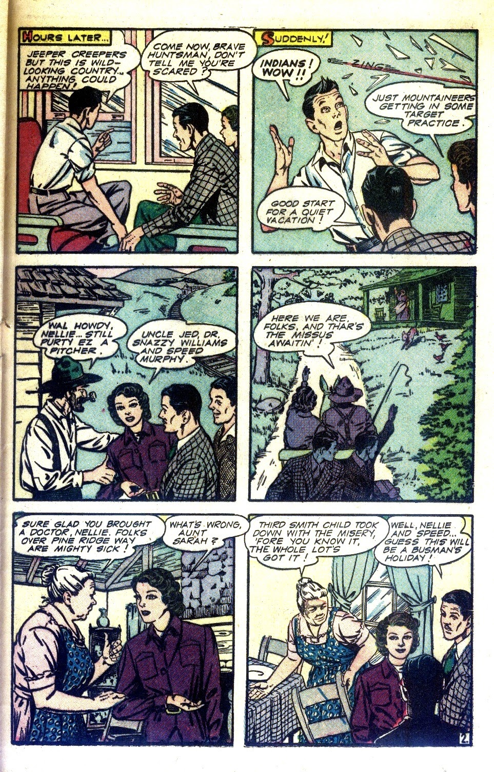 Read online Nellie The Nurse (1945) comic -  Issue #2 - 35