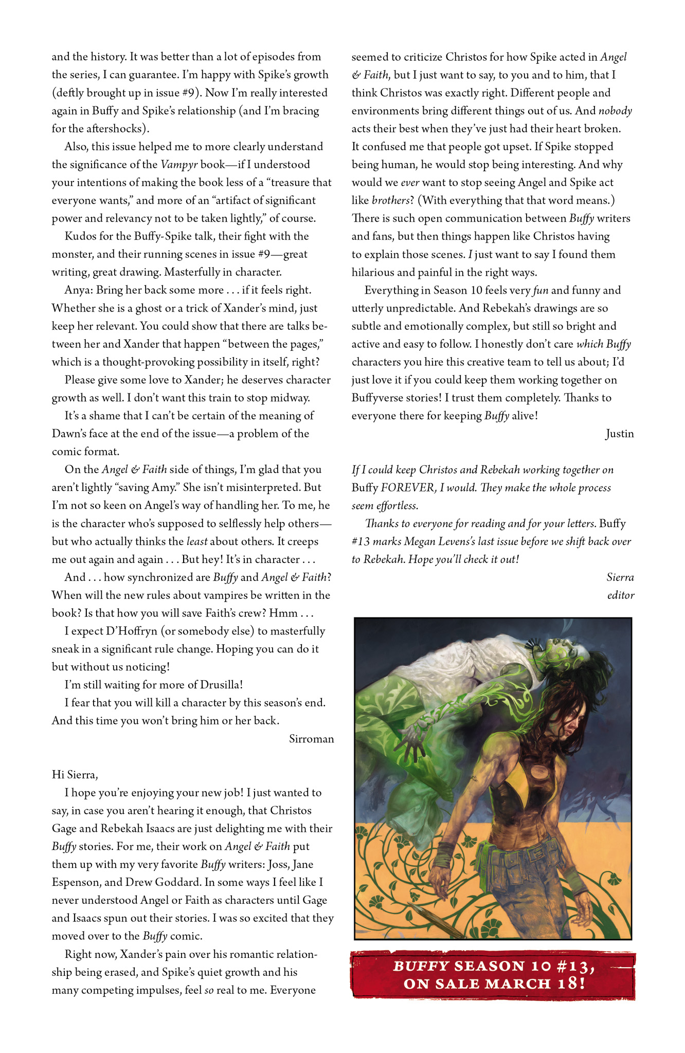 Read online Angel & Faith Season 10 comic -  Issue #12 - 26
