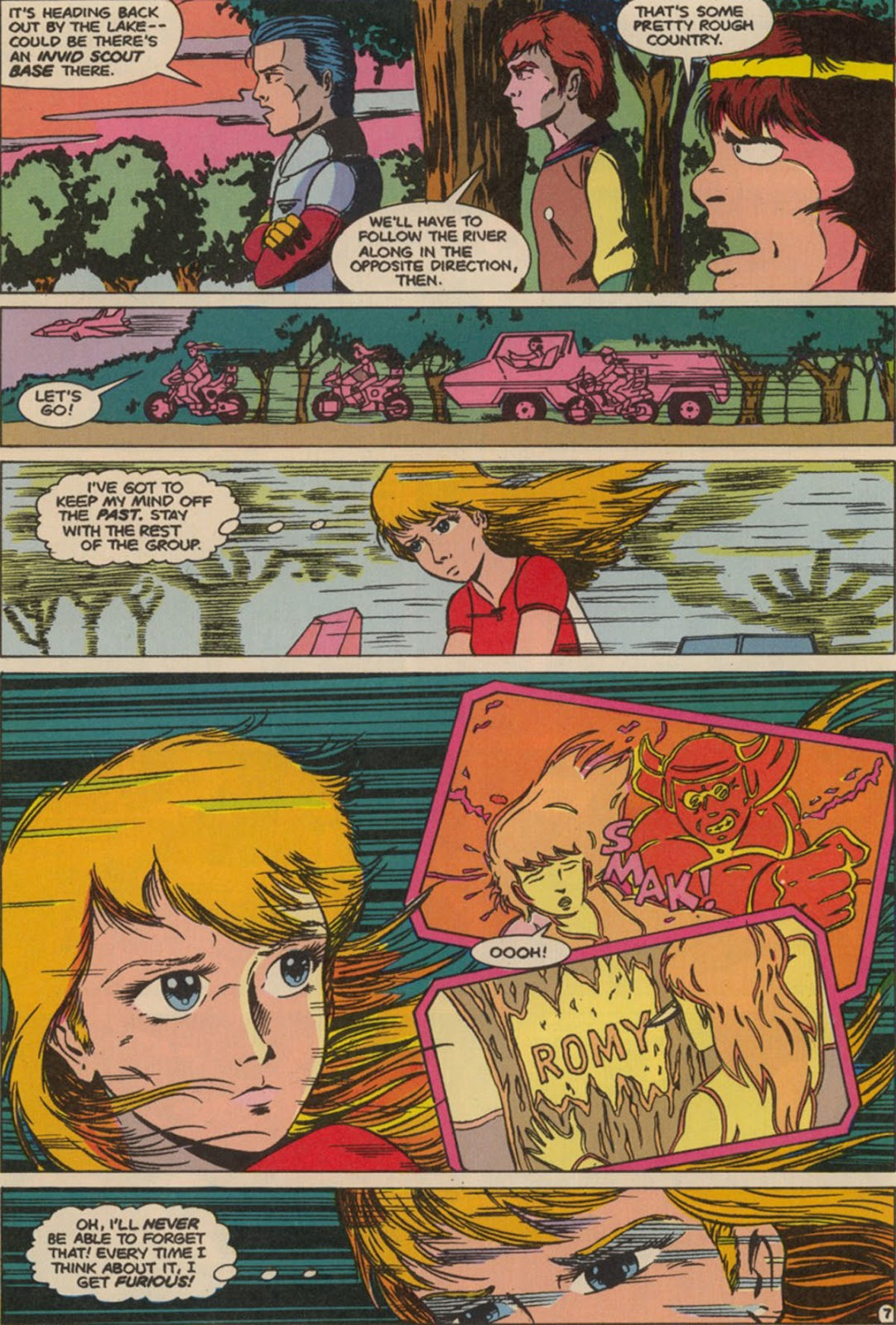 Robotech The New Generation issue 6 - Page 9