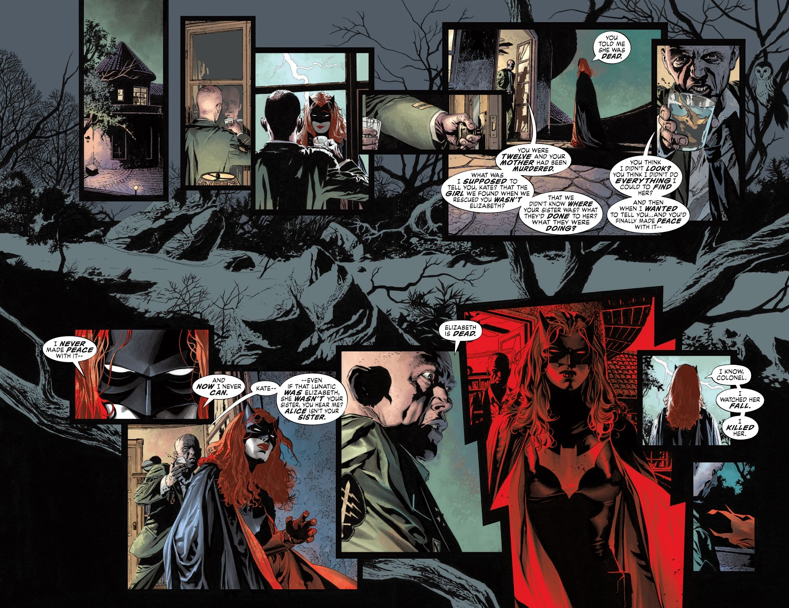Read online Detective Comics (1937) comic -  Issue # _TPB Batwoman – Elegy (New Edition) (Part 2) - 35
