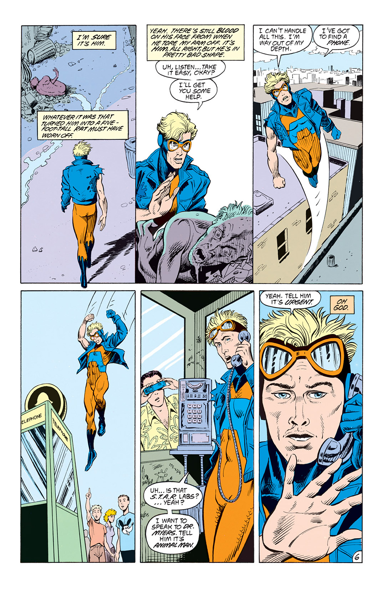 Read online Animal Man (1988) comic -  Issue #3 - 8