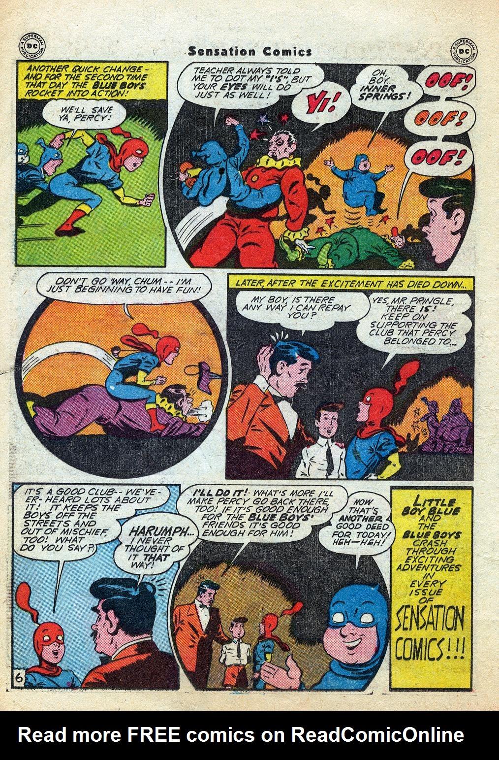 Read online Sensation (Mystery) Comics comic -  Issue #60 - 22