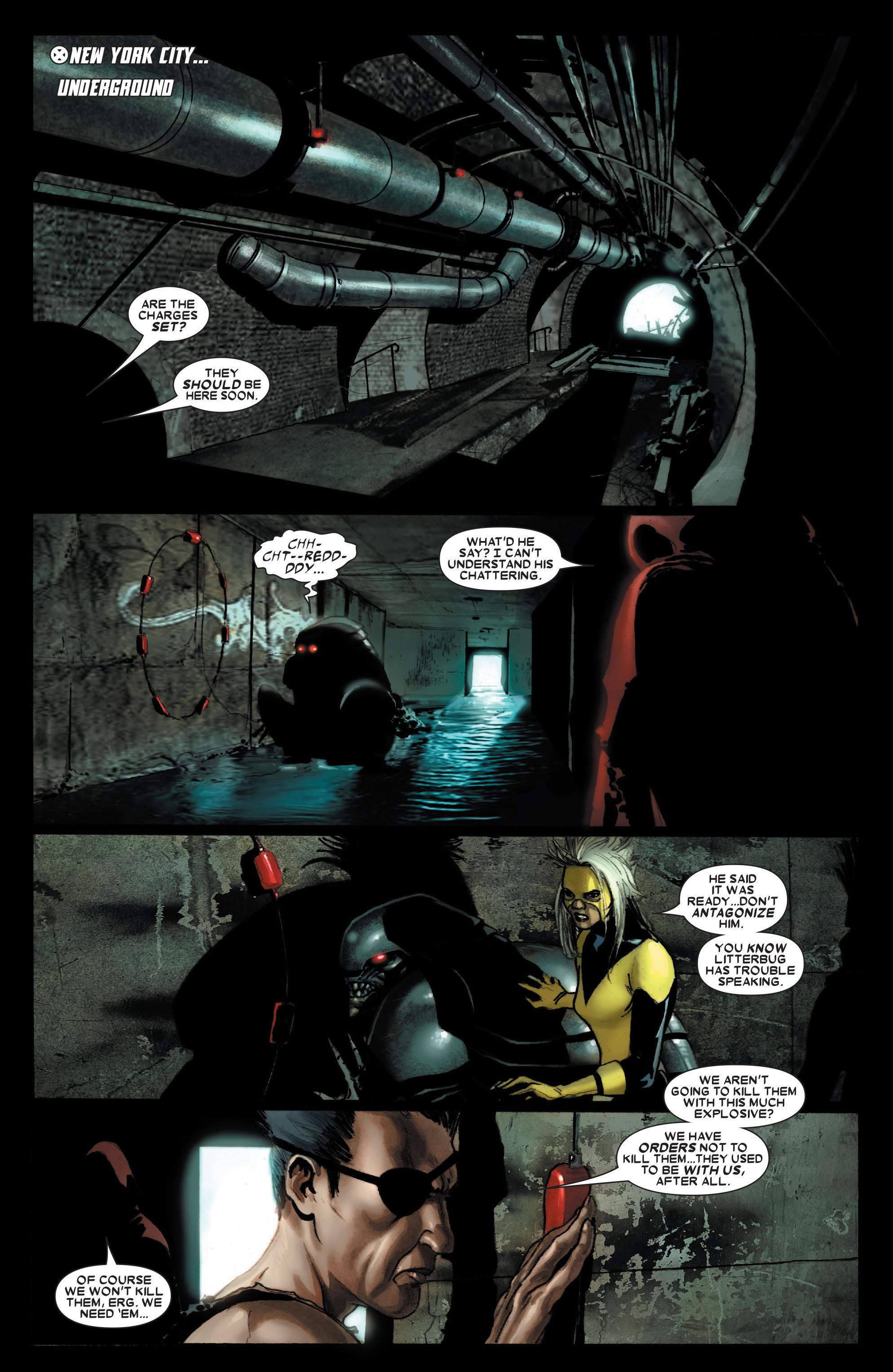 Read online Uncanny X-Men (1963) comic -  Issue #487 - 2