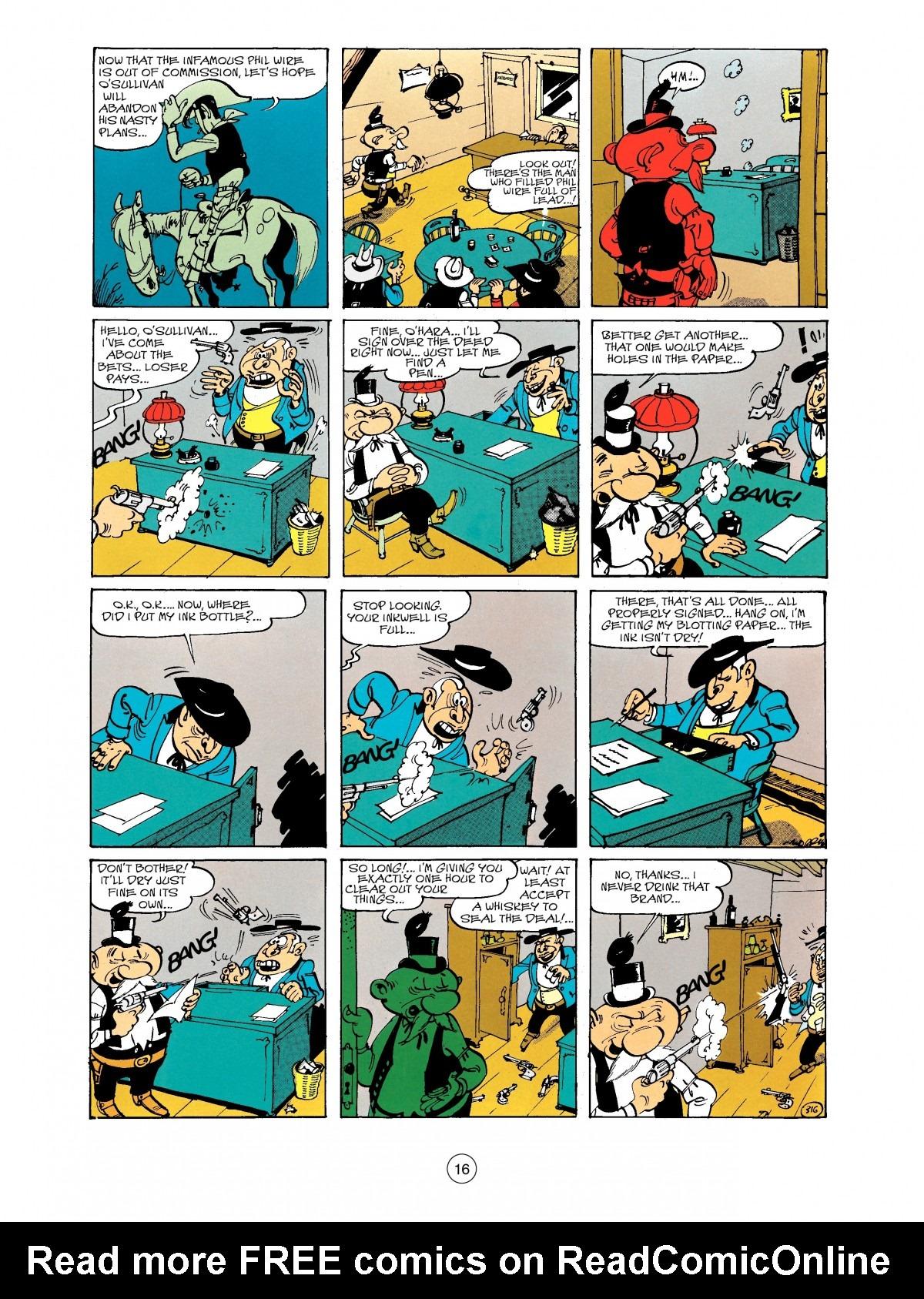 Read online A Lucky Luke Adventure comic -  Issue #40 - 16