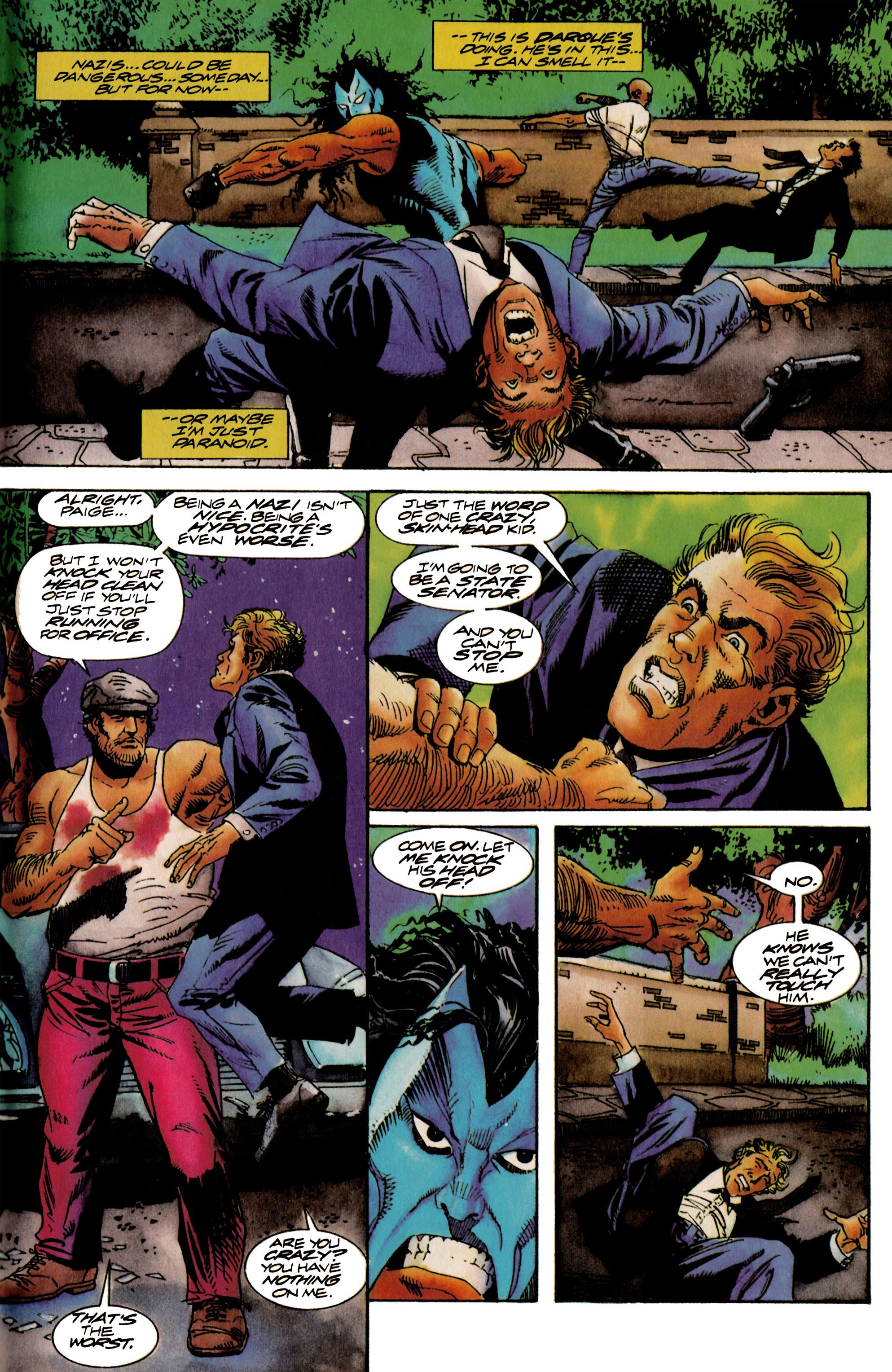 Read online Shadowman (1992) comic -  Issue #18 - 19