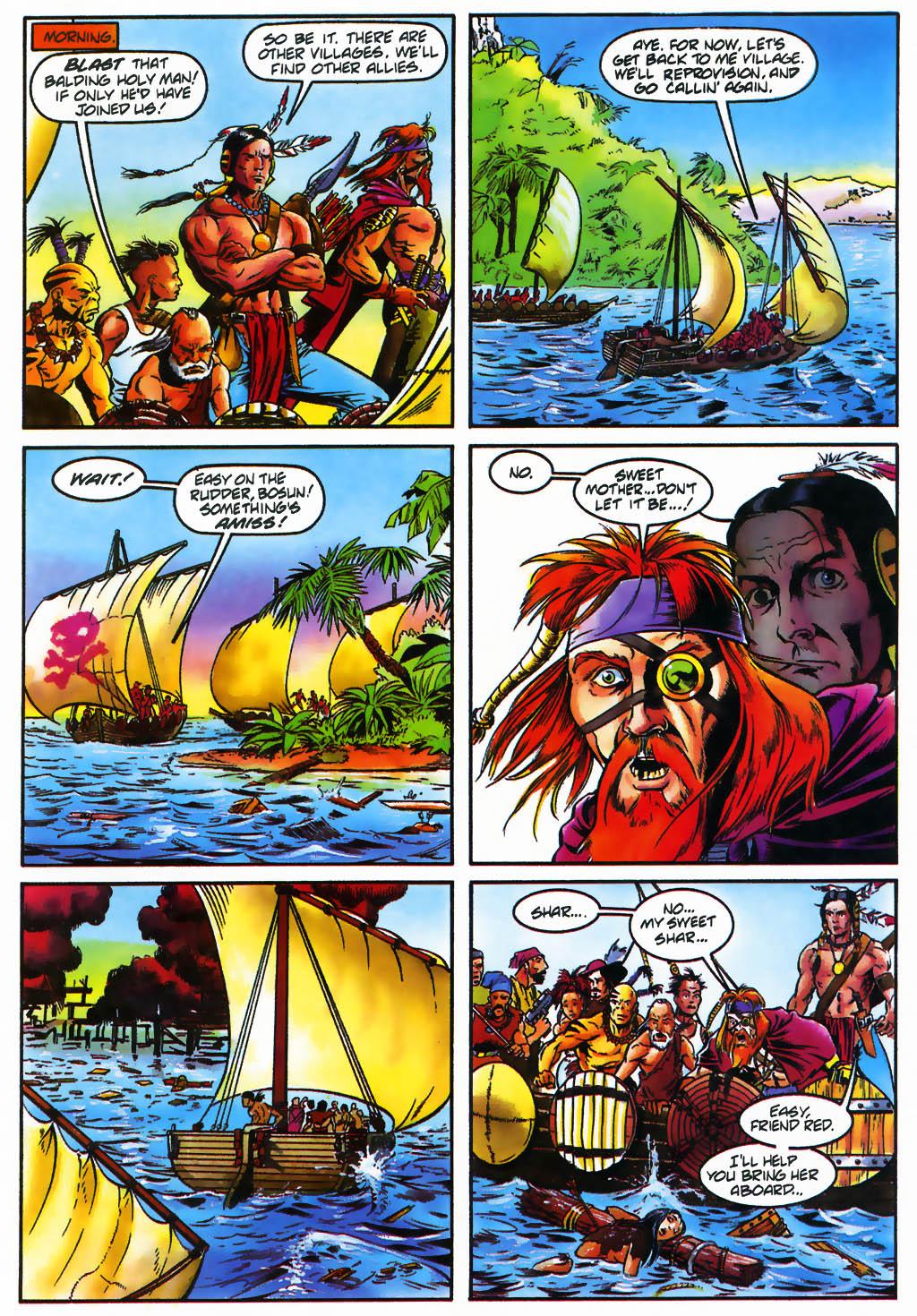 Read online Turok, Dinosaur Hunter (1993) comic -  Issue #26 - 21