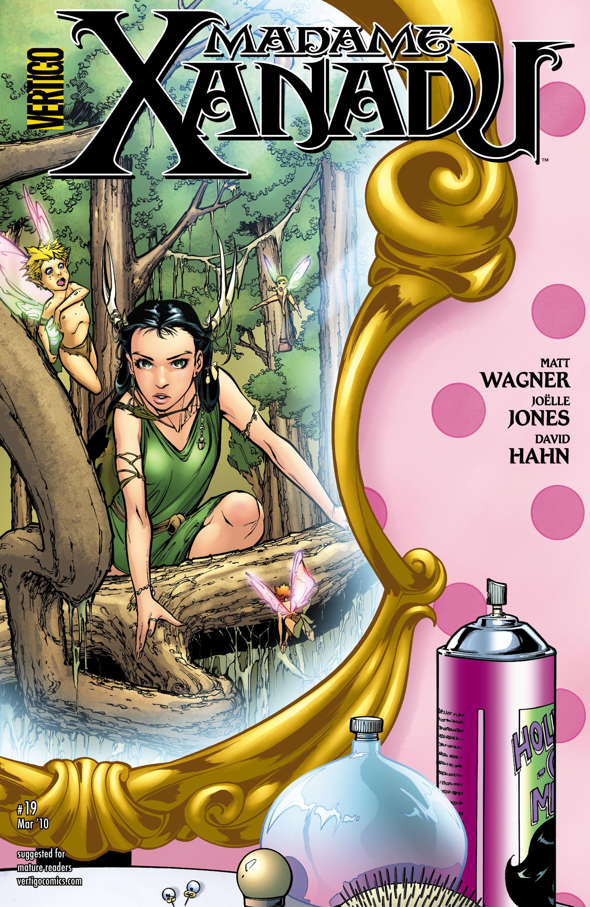 Madame Xanadu issue 19 - Page 1