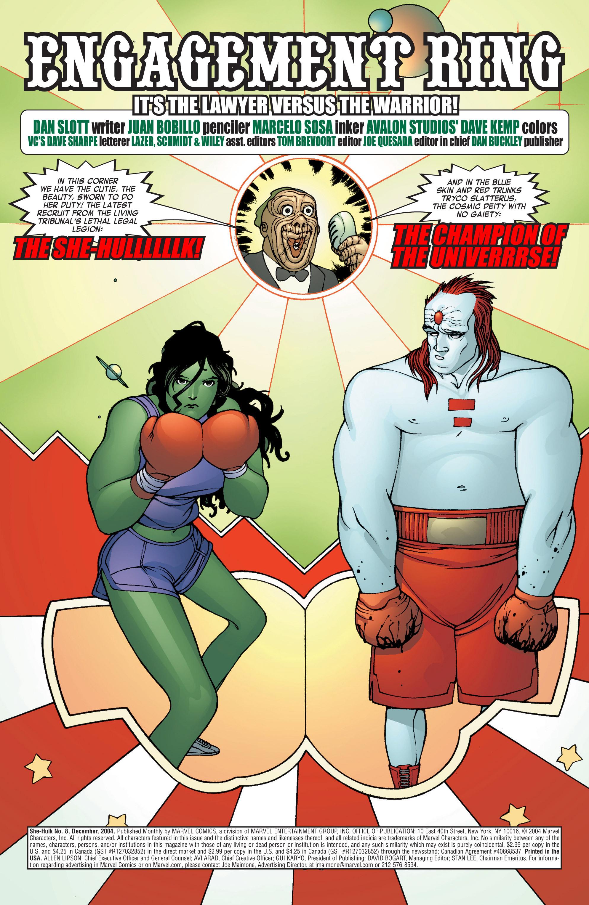 Read online She-Hulk (2004) comic -  Issue #8 - 4