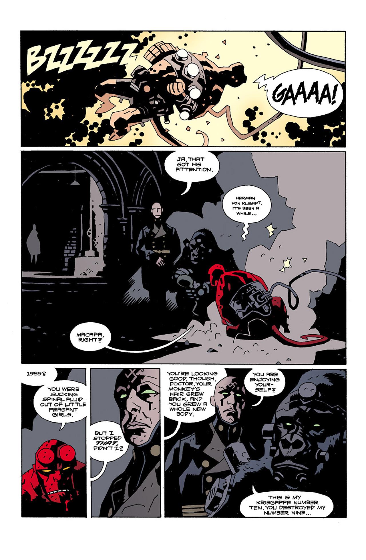 Read online Hellboy: Conqueror Worm comic -  Issue #2 - 4