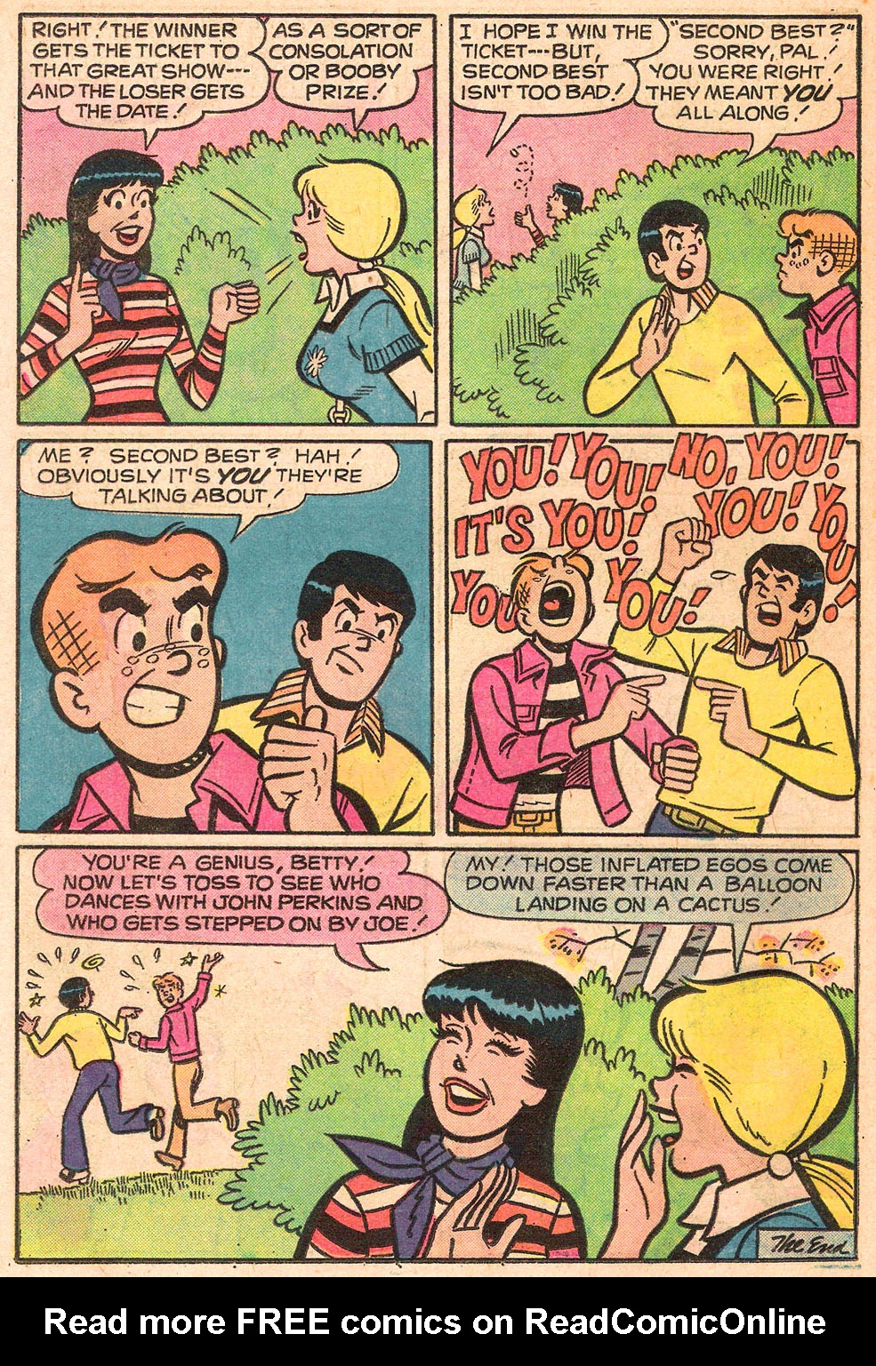 Read online Archie's Girls Betty and Veronica comic -  Issue #242 - 18