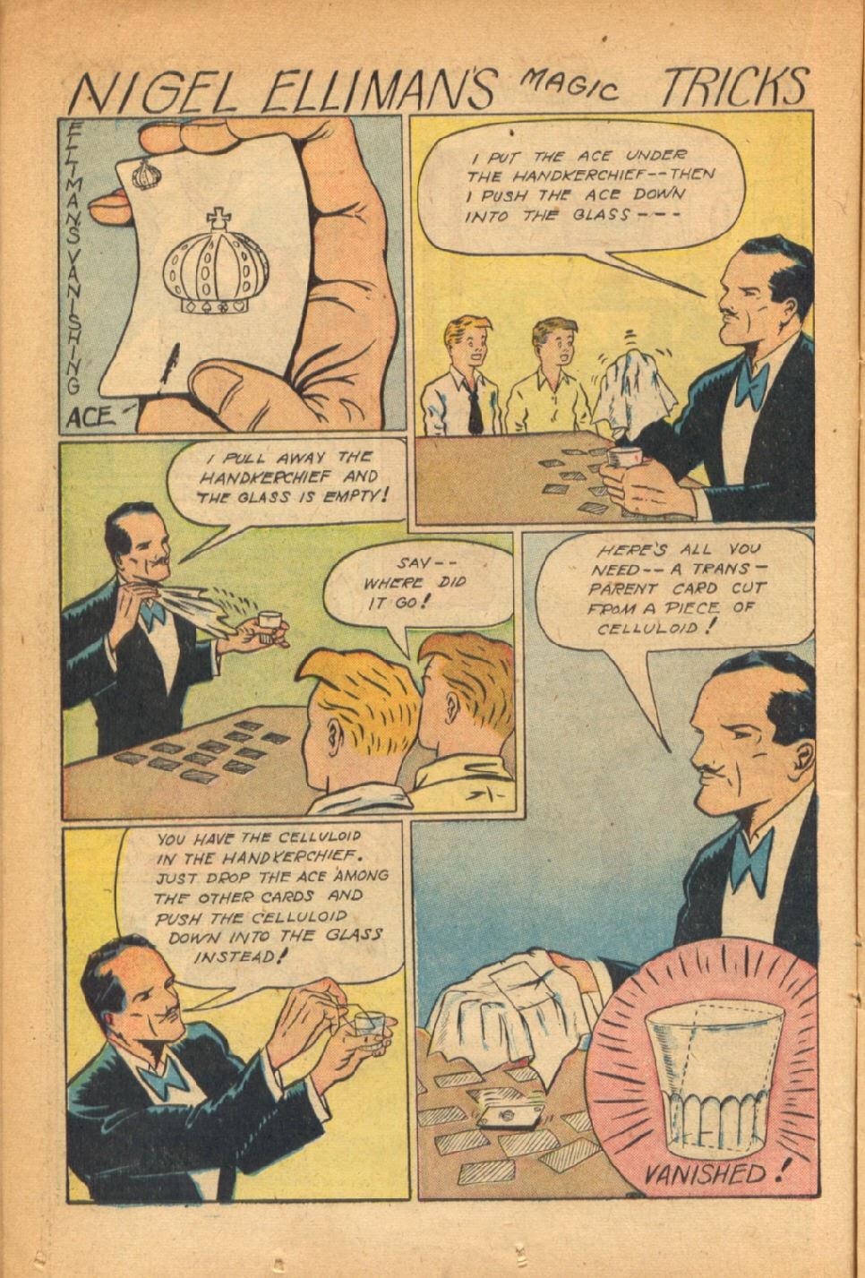 Read online Super-Magician Comics comic -  Issue #54 - 21