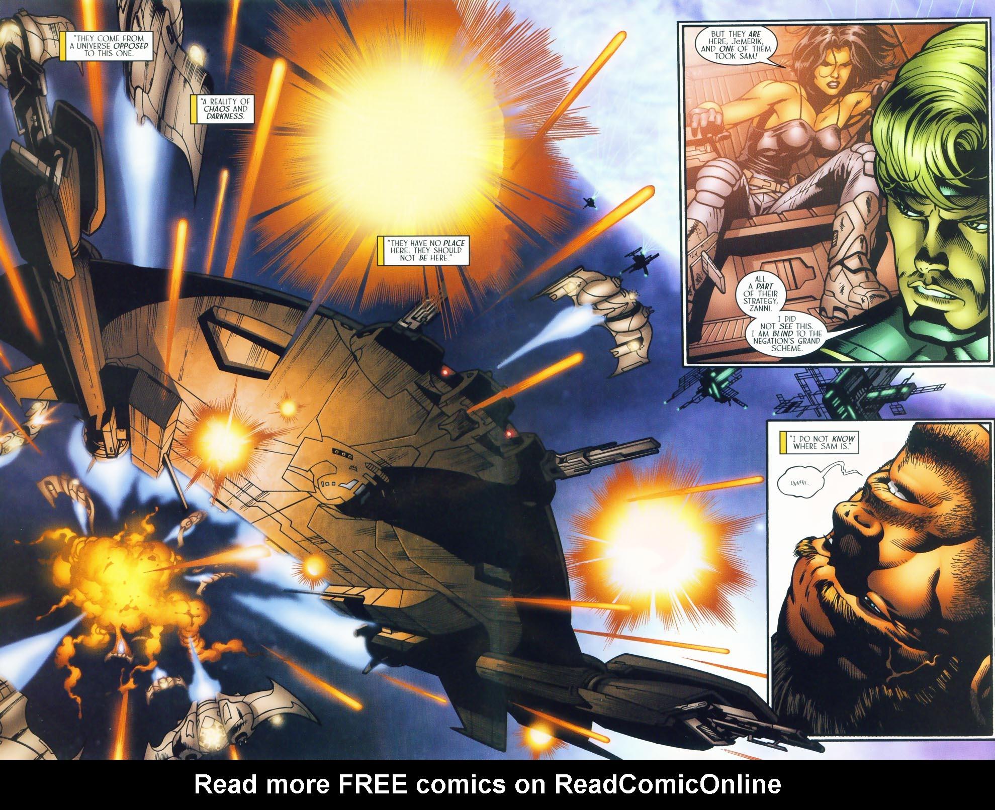 Read online Sigil (2000) comic -  Issue #37 - 6