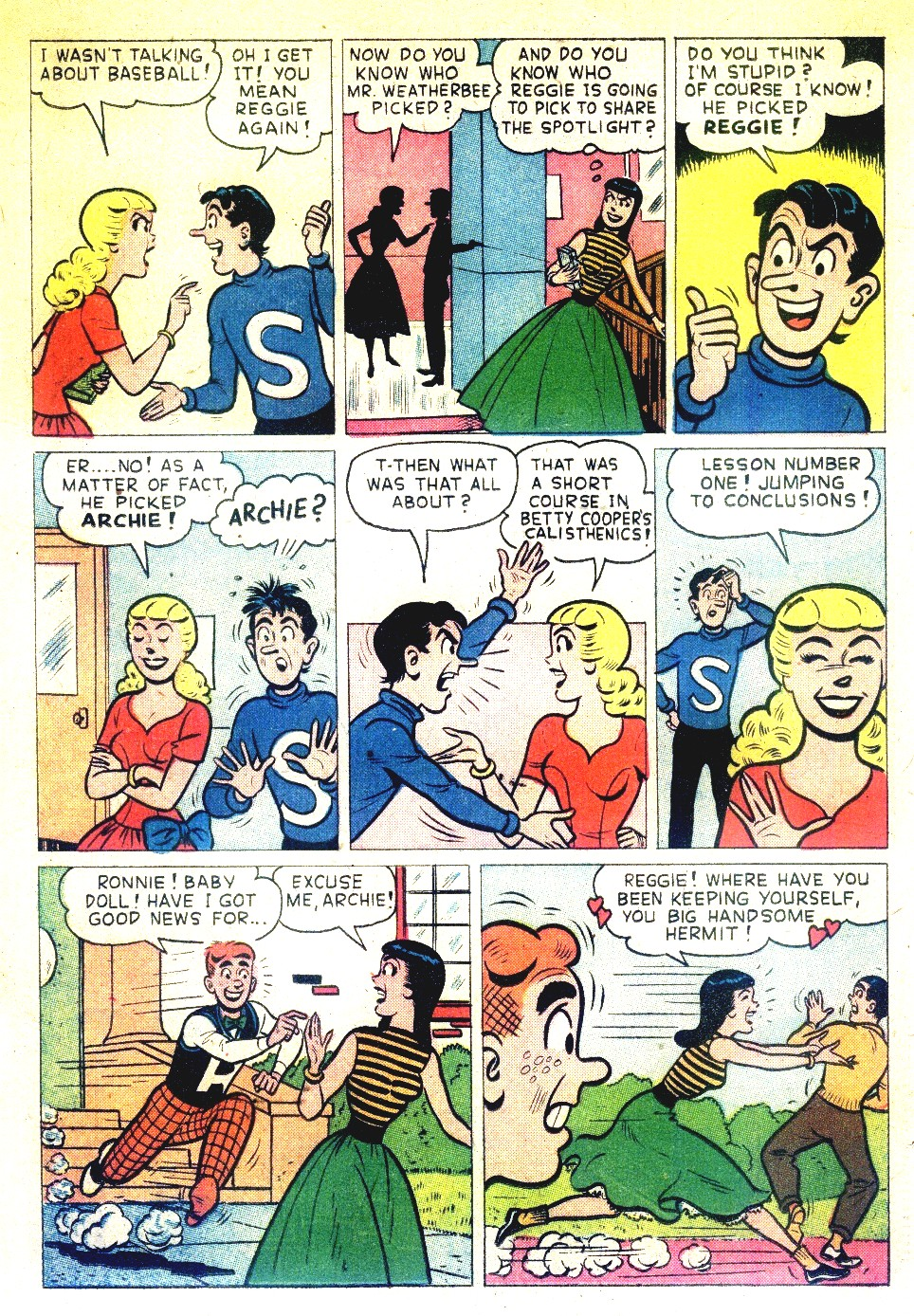 Read online Archie's Girls Betty and Veronica comic -  Issue #27 - 19