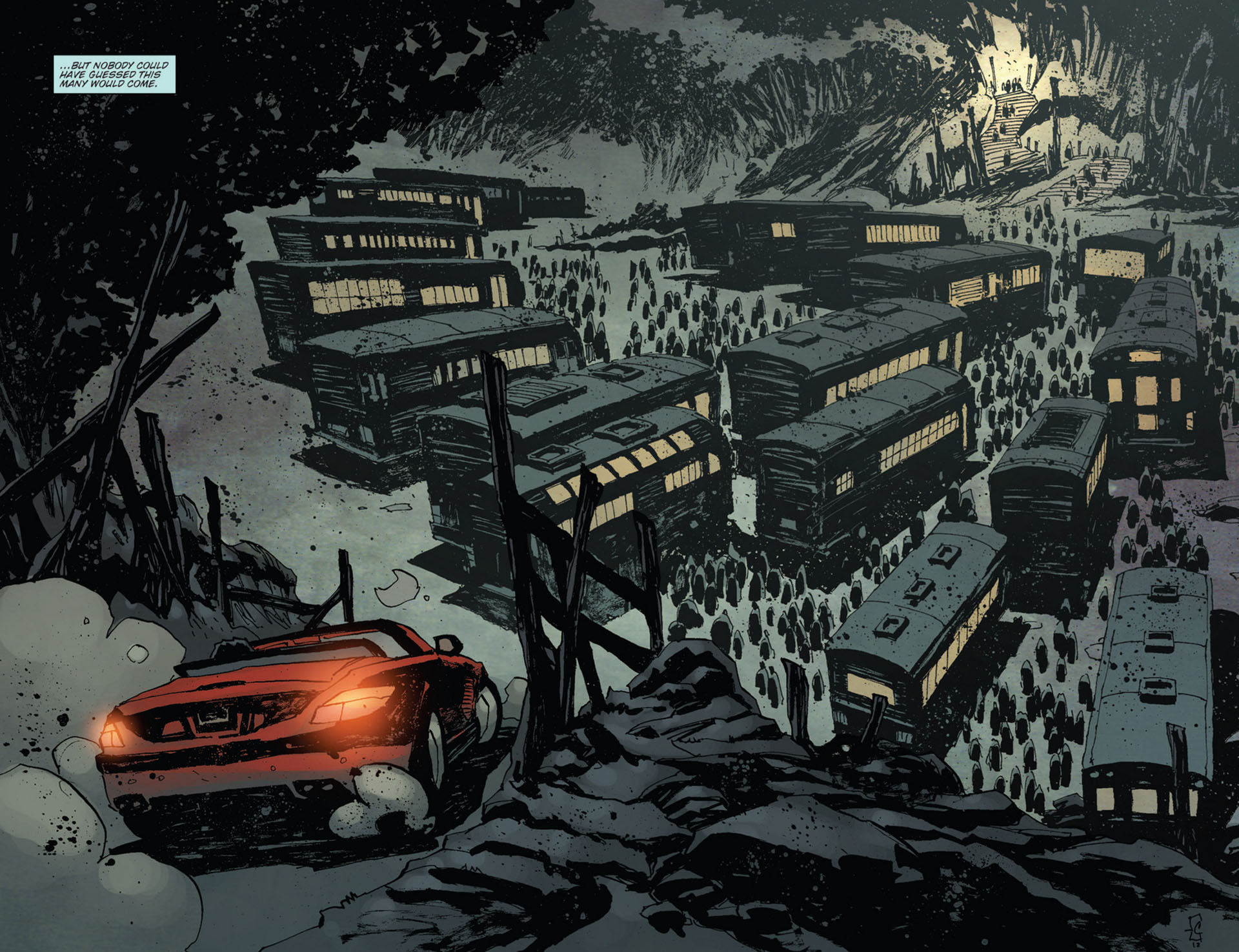 Read online 30 Days of Night (2011) comic -  Issue #12 - 10