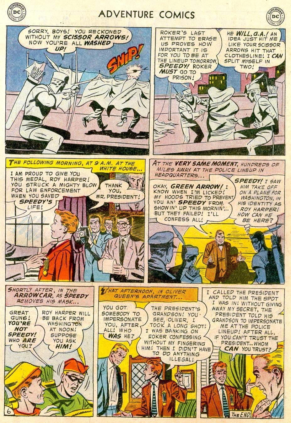 Read online Adventure Comics (1938) comic -  Issue #244 - 23