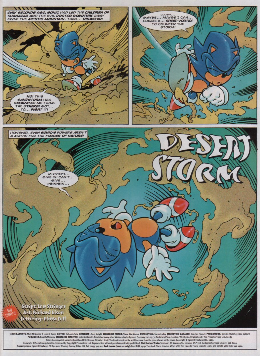 Read online Sonic the Comic comic -  Issue #154 - 2