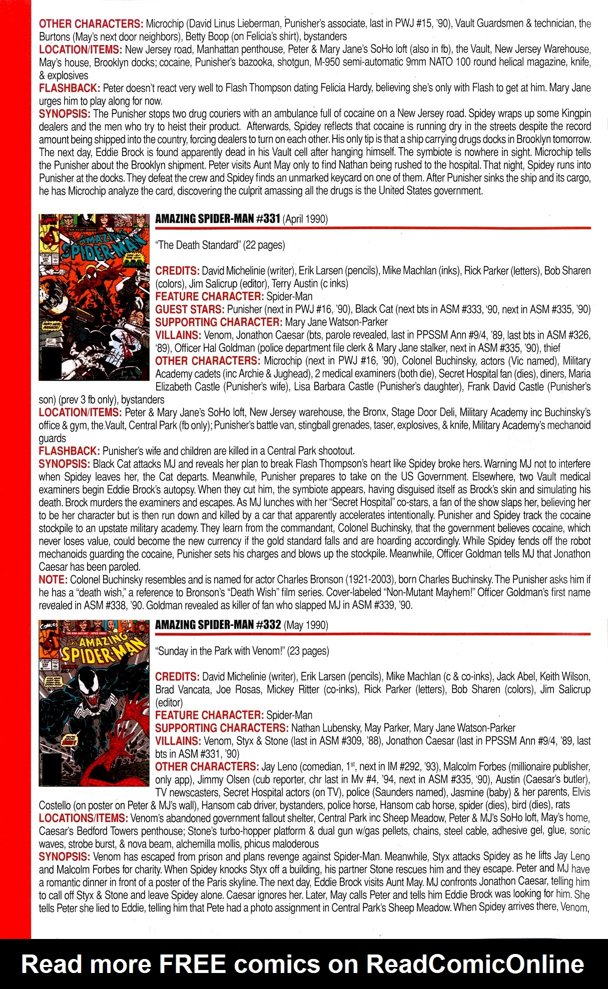 Read online Official Index to the Marvel Universe comic -  Issue #8 - 4