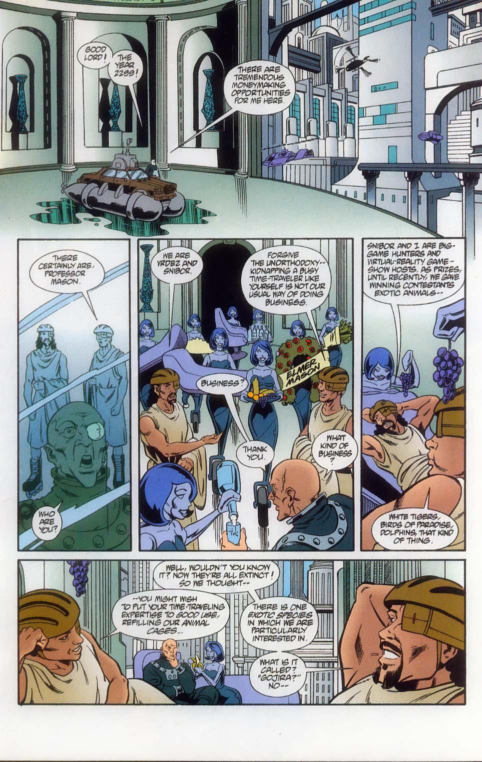 Godzilla (1995) Issue #11 #12 - English 14