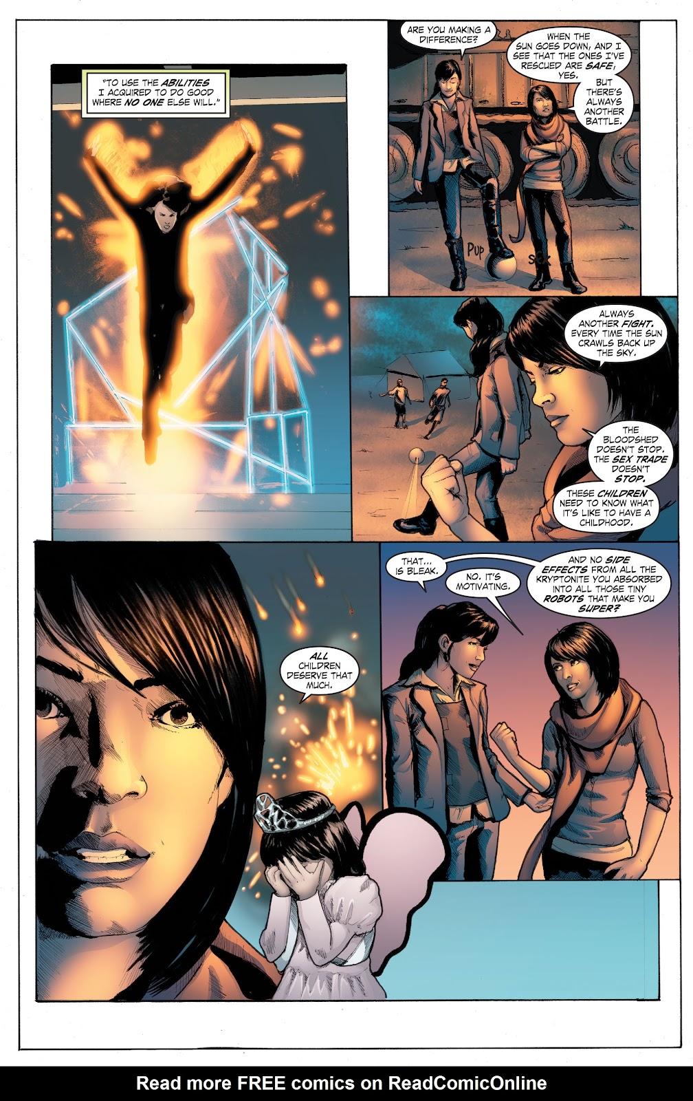 Read online Smallville Season 11 [II] comic -  Issue # TPB 4 - 118