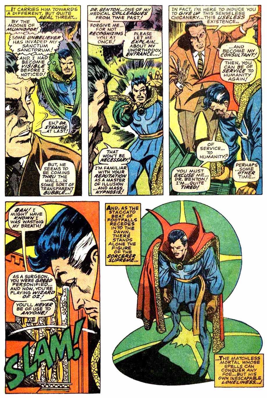 Doctor Strange (1968) 173 Page 21