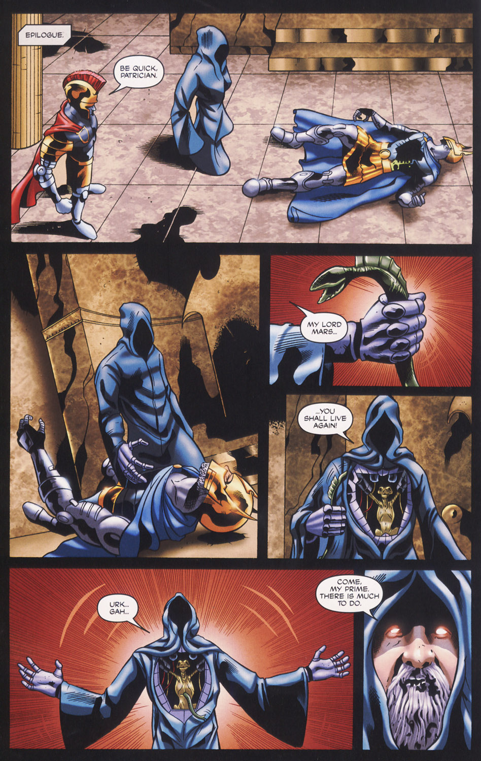 Read online Stargate SG-1: Fall of Rome comic -  Issue #3 - 24