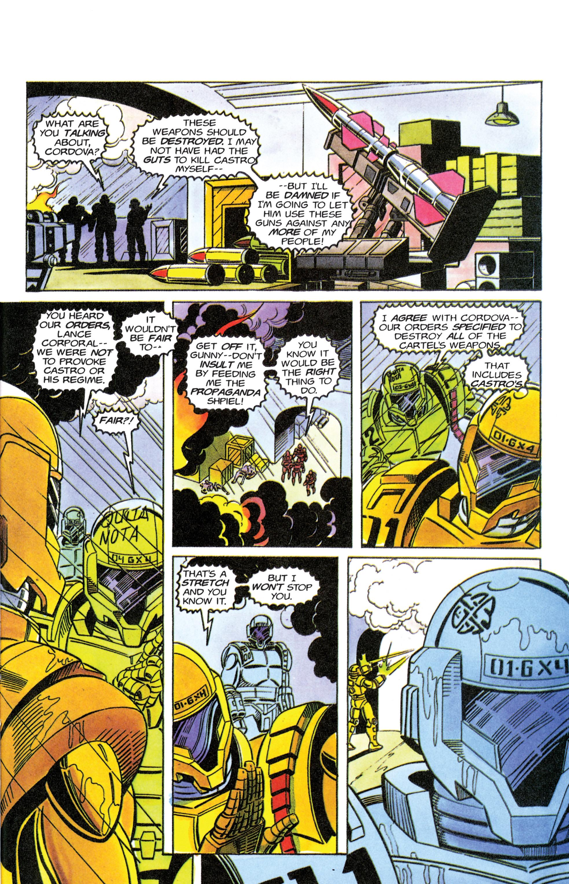 Read online Armorines comic -  Issue #11 - 20