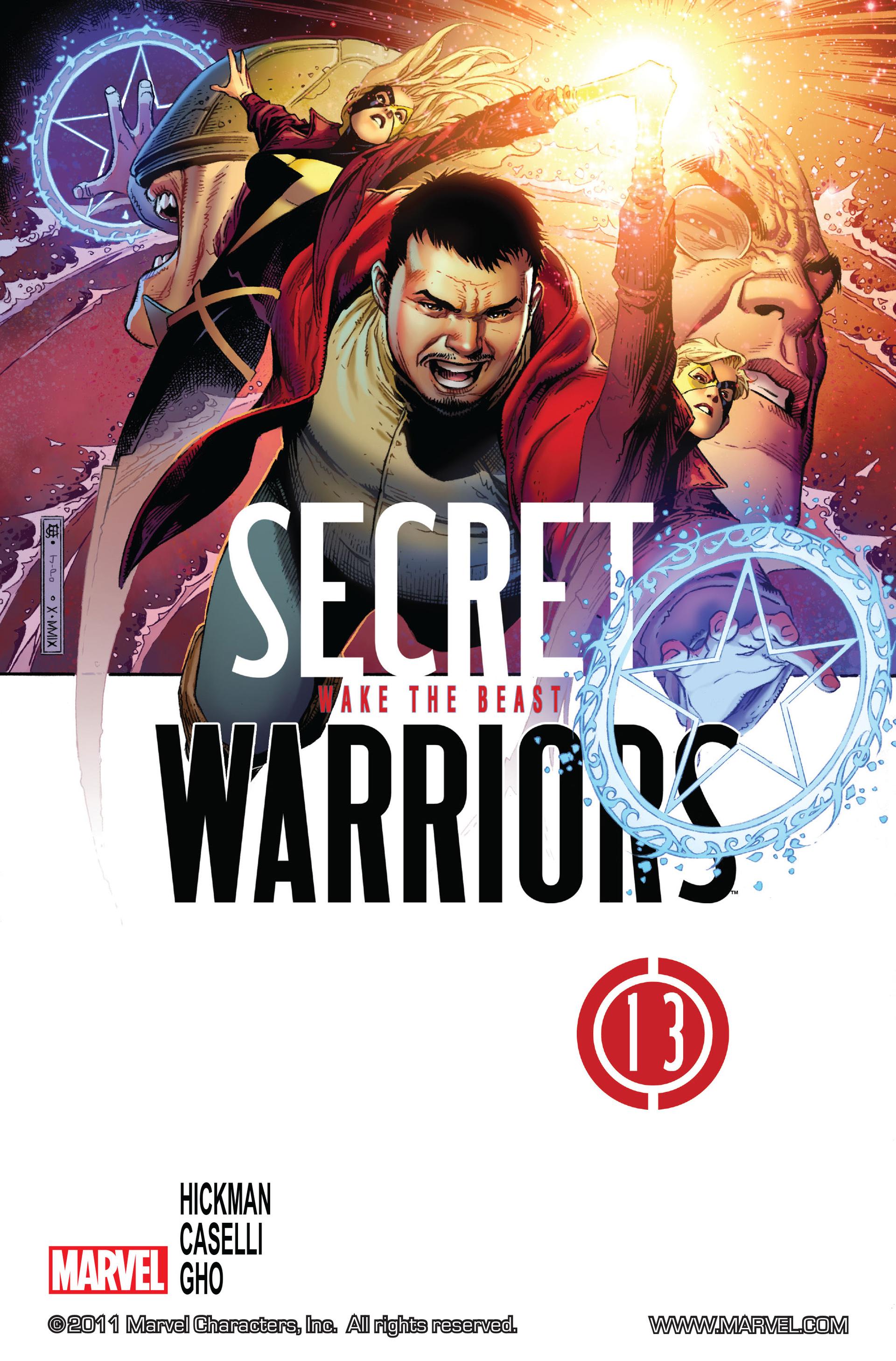 Read online Secret Warriors comic -  Issue #13 - 2
